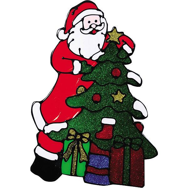 Наклейка на окно Счастливого рождества!  21*31 смНовинки Новый Год<br>Наклейку на окно Счастливого рождества!  21*31 см можно преподнести в качестве мини-презента на праздники Рождества и Нового Года. Добрый Санта с подарками и елочкой замечательно украсит новогодний интерьер и создаст праздничное настроение Вам и Вашим близким!  <br><br>Дополнительная информация:<br>-Материалы: силикон, блестки<br>-Размер в упаковке: 21х0,5х31 см<br>-Вес в упаковке: 87 г<br>-Размер: 21х31 см<br><br>Наклейка на окно Счастливого рождества!  21*31 см можно купить в нашем магазине.<br><br>Ширина мм: 210<br>Глубина мм: 5<br>Высота мм: 310<br>Вес г: 87<br>Возраст от месяцев: 84<br>Возраст до месяцев: 2147483647<br>Пол: Унисекс<br>Возраст: Детский<br>SKU: 4286724