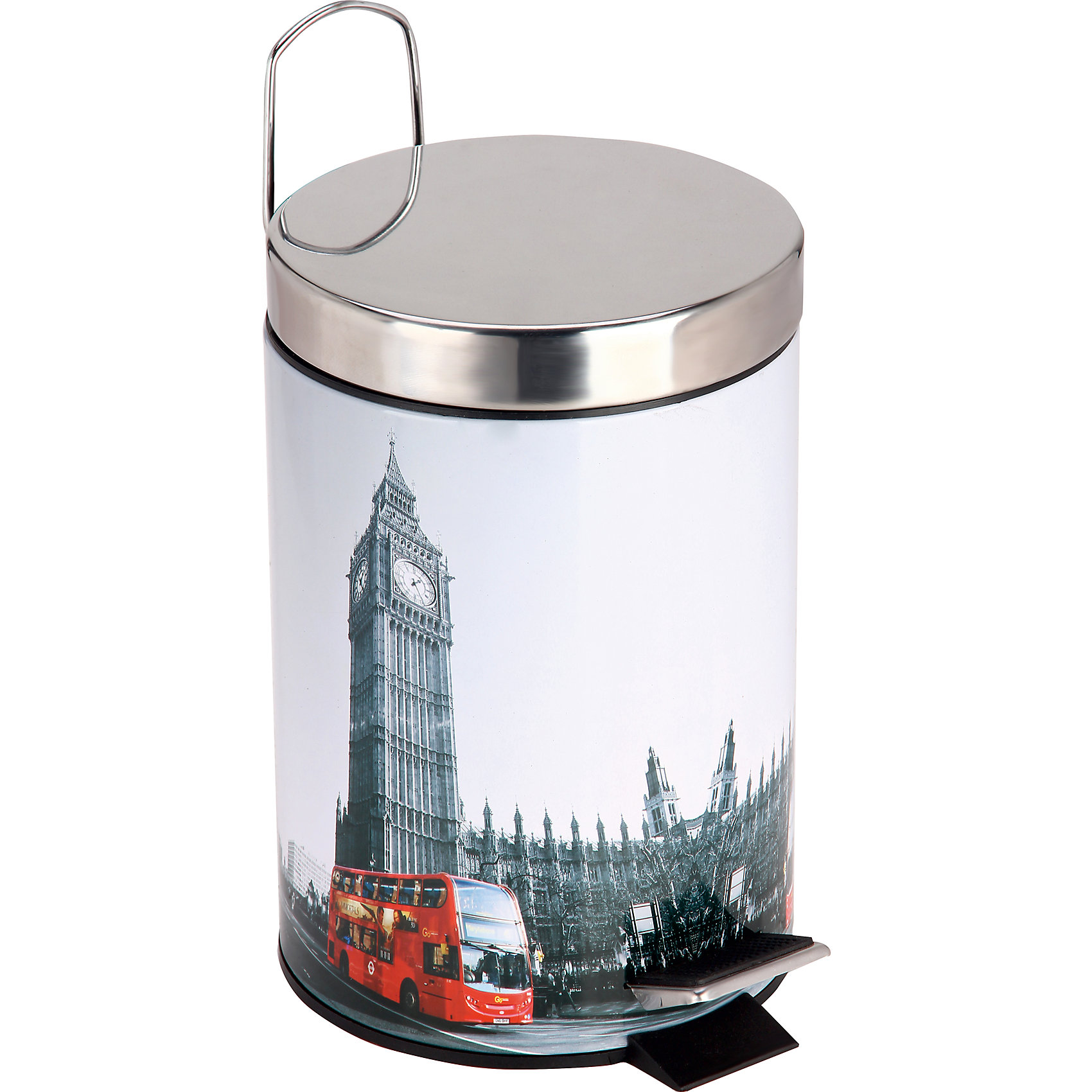 Ведро для мусора круглое DB-21 Лондон 3л, Рыжий котПорядок в детской<br>Ведро для мусора круглое DB-21 Лондон Объем: 3л<br><br>Ширина мм: 190<br>Глубина мм: 190<br>Высота мм: 260<br>Вес г: 853<br>Возраст от месяцев: 216<br>Возраст до месяцев: 1188<br>Пол: Унисекс<br>Возраст: Детский<br>SKU: 4288536