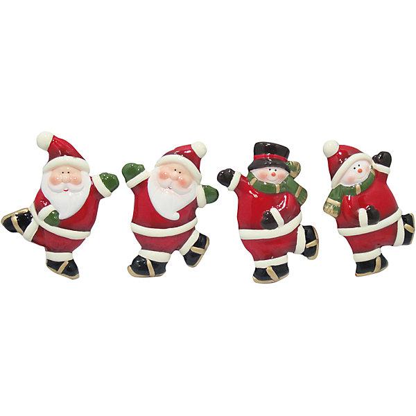 Керамический магнит, в ассортиментеНовогодние сувениры<br>Керамический магнит, Волшебная страна, прекрасно дополнит Ваш новогодний интерьер и создаст праздничное новогоднее настроение. Магнит выполнен в виде забавных фигурок новогодних персонажей, в ассортименте представлены 4 варианта дизайна с Дедом Морозом и снеговиком.<br><br>Дополнительная информация:<br><br>- Материал: керамика.<br>- Размер магнита: 7,4 x 5,4 x 1,5 см.<br>- Вес: 42 гр. <br><br>Керамический магнит, Волшебная страна, можно купить в нашем интернет-магазине.<br><br>ВНИМАНИЕ! Данный артикул имеется в наличии в разных вариантах исполнения. Заранее выбрать определенный вариант нельзя. При заказе нескольких магнитов возможно получение одинаковых.<br><br>Ширина мм: 80<br>Глубина мм: 50<br>Высота мм: 10<br>Вес г: 42<br>Возраст от месяцев: 36<br>Возраст до месяцев: 2147483647<br>Пол: Унисекс<br>Возраст: Детский<br>SKU: 4288602
