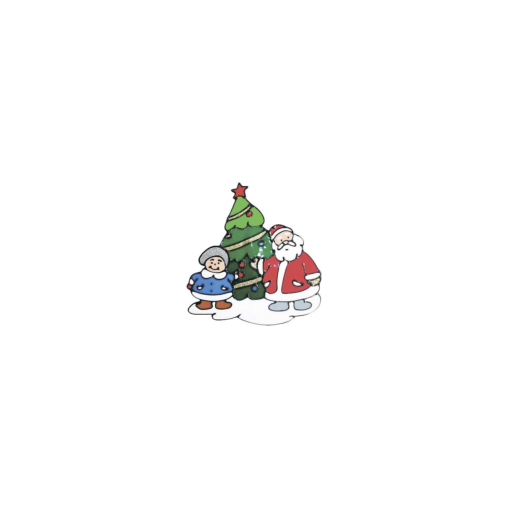 Наклейка на окно 25 см, в ассортиментеНаклейка на окно, Волшебная страна, замечательно украсит Ваш интерьер и создаст праздничное новогоднее настроение. В ассортименте представлены 2 варианта дизайна наклеек с новогодней тематикой.<br><br>Дополнительная информация:<br><br>- Размер наклейки: 25 см.<br>- Вес: 52 гр. <br><br>Наклейку на окно, Волшебная страна, можно купить в нашем интернет-магазине.<br><br>ВНИМАНИЕ! Данный артикул имеется в наличии в разных вариантах исполнения. Заранее выбрать определенный вариант нельзя. При заказе нескольких наклеек возможно получение одинаковых.<br><br>Ширина мм: 300<br>Глубина мм: 1<br>Высота мм: 260<br>Вес г: 52<br>Возраст от месяцев: 36<br>Возраст до месяцев: 2147483647<br>Пол: Унисекс<br>Возраст: Детский<br>SKU: 4288626