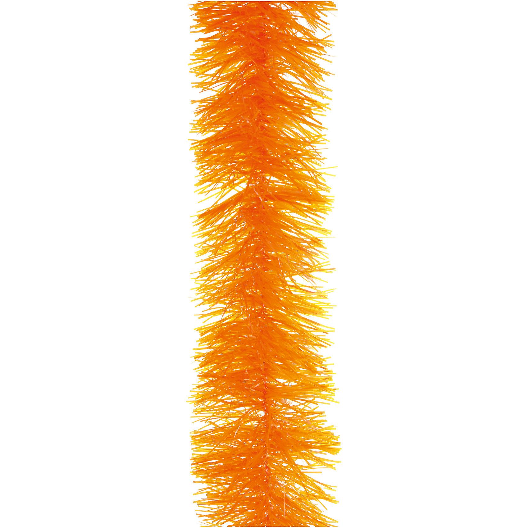 Оранжевая мишура