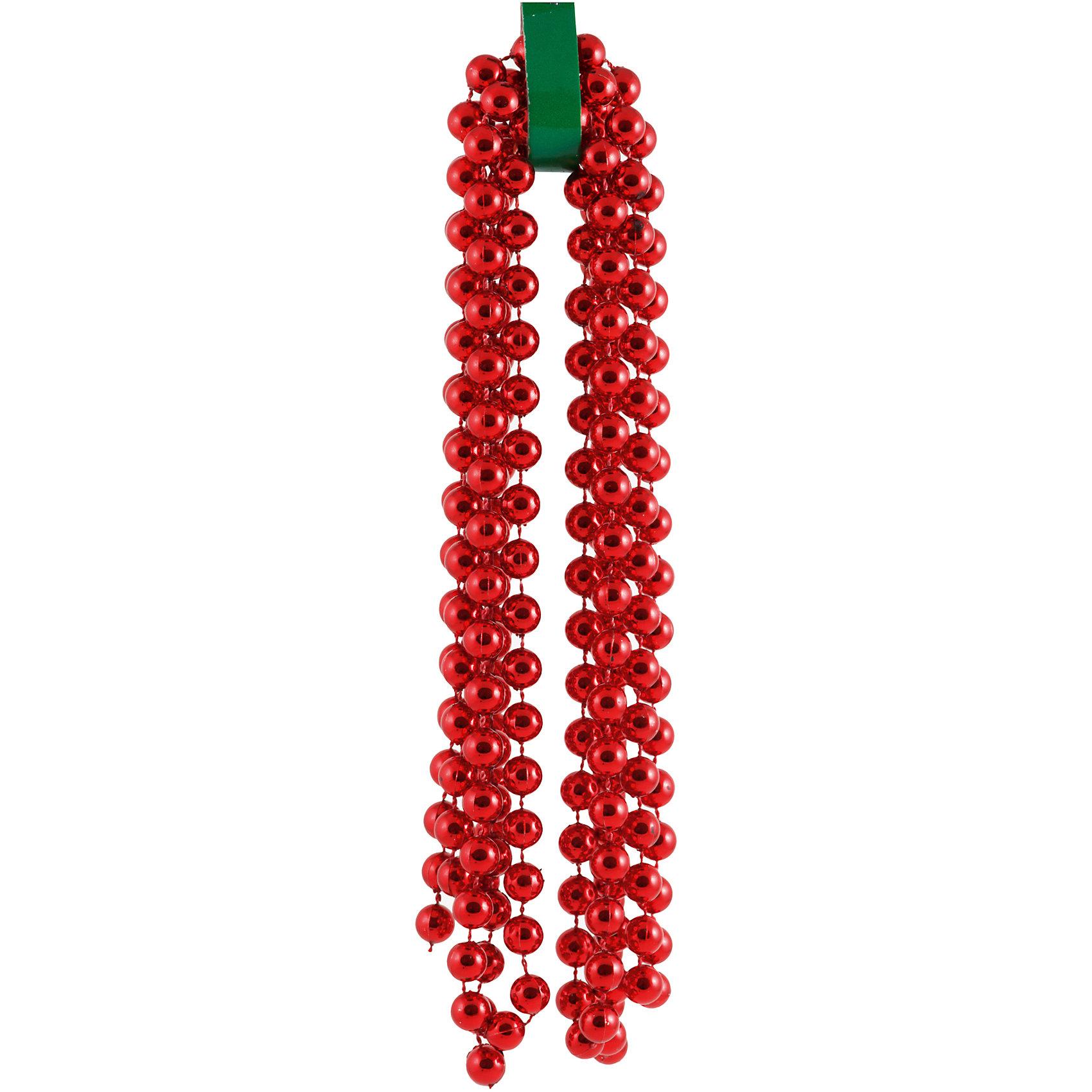 Красные бусы КлассикКрасные бусы Классик, Волшебная страна, станут замечательным украшением для Вашей новогодней елки и помогут создать праздничную волшебную атмосферу. Бусы выполнены в стильном дизайне из бусинок насыщенного ярко-красного цвета, они будут чудесно смотреться на елке и радовать детей и взрослых.<br><br>Дополнительная информация:<br><br>- Цвет: красный. <br>- Длина бус: 2,7 м.<br>- Размер упаковки: 28 х 11 х 1 см.<br>- Вес: 131 гр. <br><br>Красные бусы Классик, Волшебная страна, можно купить в нашем интернет-магазине.<br><br>Ширина мм: 280<br>Глубина мм: 110<br>Высота мм: 10<br>Вес г: 131<br>Возраст от месяцев: 36<br>Возраст до месяцев: 2147483647<br>Пол: Унисекс<br>Возраст: Детский<br>SKU: 4288633