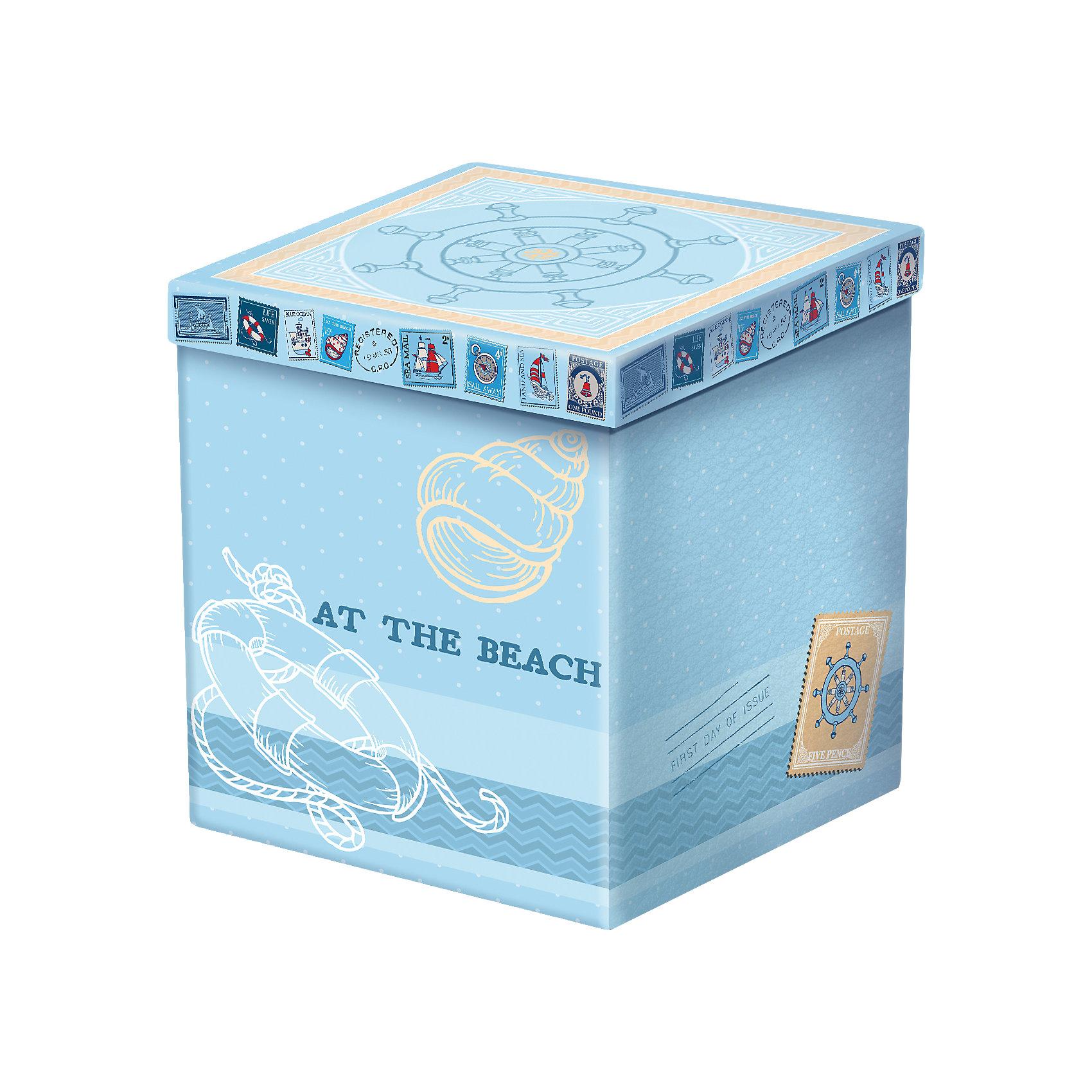 Складной пуфик МорскойНовинки для детской<br>Складной пуфик Морской - оригинальная и практичная вещь, которая прекрасно впишется в любой интерьер. Пуфик подходит для компактного хранения книг, игрушек или же любых других вещей. Также его можно использовать как дополнительное посадочное место. В сложенном виде изделие занимает мало места, при необходимости быстро раскладывается. Прекрасная идея для подарка на любой праздник. <br><br>Дополнительная информация:<br><br>- Материал: МДФ, полиуретан.<br>- Размер: 38х38х38 см.<br>- Размер в сложенном виде: 38х38х6 см.  <br>- Цвет: голубой.<br><br>Пуфик складной Морской можно купить в нашем магазине.<br><br>Ширина мм: 380<br>Глубина мм: 380<br>Высота мм: 38<br>Вес г: 1100<br>Возраст от месяцев: 36<br>Возраст до месяцев: 2147483647<br>Пол: Унисекс<br>Возраст: Детский<br>SKU: 4290334