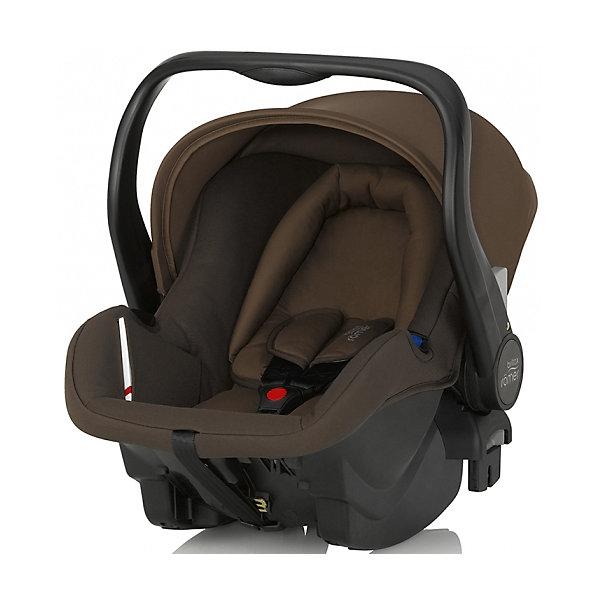 Автокресло Britax Romer PRIMO, 0-13 кг, Wood BrownГруппа 0+  (до 13 кг)<br>Primo - безопасное и комфортное автокресло-переноска для малышей с рождения.<br>Встроенные переходники позволяют легко установить кресло на детскую коляску Britax-Romer для создания системы для путешествий Travel System.<br>Отделенная от капора эргономичная ручка позволяет с комфортом переносить малыша на дальние расстояния.<br><br>Дополнительная информация:<br><br>- Материал: пластик, текстиль.<br>- Размеры: 62,5 х 44 х 53,5 см.<br>- Размеры сиденья: 31 х 28 см.<br>- Длина спинки: 48 см.<br>- Вес: 4 кг.<br>- Удобный мягкий вкладыш позволяет поддерживать естественное положение тела новорожденного во время сна.<br>- Внутренний 3-точечный ремень безопасности регулируется всего одним движением руки. <br>- Специальный вкладыш для новорожденных, состоящий из 2 частей (подголовника с мягкими бортиками и подушки под спину), обеспечивает комфорт и безопасность во время сна. При необходимости вынимается, увеличивая свободное пространство внутри автокресла.<br>- Совместимость с детскими колясками BRITAX, оснащенными механизмом CLICK &amp; GO. <br>- Складной капор для защиты от солнца и ветра с защитой от УФ-излучения 50+. <br>- Эргономичная ручка для переноски.<br>- Быстросъемный моющийся чехол с мягкой подкладкой, не требующий расцепления ремня безопасности. <br>- Изогнутое основание для укачивания или кормления.<br>- Глубокие боковины с мягкой обивкой и плечевые накладки на внутренних ремнях для еще большего комфорта ребенка.<br>- Быстрая и простая установка с помощью 3-точечного ремня безопасности автомобиля или специальной базы PRIMO (приобретается отдельно).<br>- Установка против хода движения.<br><br>Автокресло PRIMO, 0-13 кг., Britax Romer, Wood Brown (Бритакс Ремер) можно купить в нашем магазине.<br><br>Ширина мм: 740<br>Глубина мм: 350<br>Высота мм: 440<br>Вес г: 11700<br>Цвет: коричневый<br>Возраст от месяцев: 0<br>Возраст до месяцев: 12<br>Пол: Унисекс<br>Возраст: Детский<br>SKU: 4292286