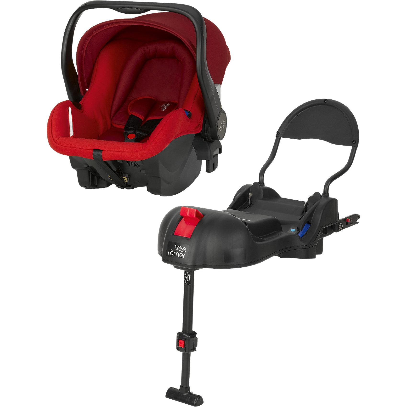 Автокресло Britax Romer PRIMO 0-13 кг, Flame Red Trendline + базаГруппа 0+ (До 13 кг)<br>Комплект: автолюлька для детей от 0 до 13 кг и база PRIMO. <br><br>Особенности автокресла Primo: <br>Внутренний 3-точечный ремень безопасности регулируется всего одним движением руки.<br>Специальный вкладыш для новорожденных, состоящий из 2 частей (подголовника с мягкими бортиками и подушки под спину), обеспечивает комфорт и безопасность во время сна. При необходимости вынимается, увеличивая свободное пространство внутри автокресла. Совместимость с детскими колясками BRITAX, оснащенными механизмом CLICK &amp; GO. Съемный капор для защиты от солнца и ветра с защитой от УФ-излучения 50+. Эргономичная ручка для переноски: для ношения и использования в авто; для укладывания ребенка; для надежной установки за пределами автомобиля. Быстросъемный моющийся чехол с мягкой подкладкой, не требующий расцепления ремня безопасности. Изогнутое основание для укачивания или кормления. Глубокие боковины с мягкой обивкой и плечевые накладки на внутренних ремнях для еще большего комфорта ребенка. Быстрая и простая установка с помощью 3-точечного ремня безопасности автомобиля или специальной базы PRIMO. Вес: 4,7 кг. Габариты: 66 - 82 х 32,5 х 70 см<br>Особенности базы Primo:<br>Легко регулируемая опора придает дополнительную устойчивость конструкции. Цветовые индикаторы информируют о надежном креплении детского кресла и правильном размещении опоры. Пластина против отскока оптимизирует защитное действие в критической ситуации. Легко складывается для дальнейшего хранения, не занимая много места. База может оставаться в автомобиле. Продается только в комплекте с автолюлькой PRIMO. Крепление с помощью ремня и Isofix.<br><br>Ширина мм: 750<br>Глубина мм: 480<br>Высота мм: 450<br>Вес г: 12274<br>Цвет: красный<br>Возраст от месяцев: 0<br>Возраст до месяцев: 12<br>Пол: Женский<br>Возраст: Детский<br>SKU: 4292288