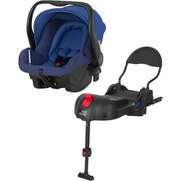 Автокресло Britax Romer PRIMO 0-13 кг, Ocean Blue Trendline + базаАвтокресла с креплением Isofix<br>Комплект: автолюлька для детей от 0 до 13 кг и база PRIMO. <br><br>Особенности автокресла Primo: <br>Внутренний 3-точечный ремень безопасности регулируется всего одним движением руки.<br>Специальный вкладыш для новорожденных, состоящий из 2 частей (подголовника с мягкими бортиками и подушки под спину), обеспечивает комфорт и безопасность во время сна. При необходимости вынимается, увеличивая свободное пространство внутри автокресла. Совместимость с детскими колясками BRITAX, оснащенными механизмом CLICK &amp; GO. Съемный капор для защиты от солнца и ветра с защитой от УФ-излучения 50+. Эргономичная ручка для переноски: для ношения и использования в авто; для укладывания ребенка; для надежной установки за пределами автомобиля. Быстросъемный моющийся чехол с мягкой подкладкой, не требующий расцепления ремня безопасности. Изогнутое основание для укачивания или кормления. Глубокие боковины с мягкой обивкой и плечевые накладки на внутренних ремнях для еще большего комфорта ребенка. Быстрая и простая установка с помощью 3-точечного ремня безопасности автомобиля или специальной базы PRIMO. Вес: 4,7 кг. Габариты: 66 - 82 х 32,5 х 70 см<br>Особенности базы Primo:<br>Легко регулируемая опора придает дополнительную устойчивость конструкции. Цветовые индикаторы информируют о надежном креплении детского кресла и правильном размещении опоры. Пластина против отскока оптимизирует защитное действие в критической ситуации. Легко складывается для дальнейшего хранения, не занимая много места. База может оставаться в автомобиле. Продается только в комплекте с автолюлькой PRIMO. Крепление с помощью ремня и Isofix.<br><br>Ширина мм: 730<br>Глубина мм: 490<br>Высота мм: 485<br>Вес г: 12274<br>Цвет: синий<br>Возраст от месяцев: 0<br>Возраст до месяцев: 12<br>Пол: Мужской<br>Возраст: Детский<br>SKU: 4292289