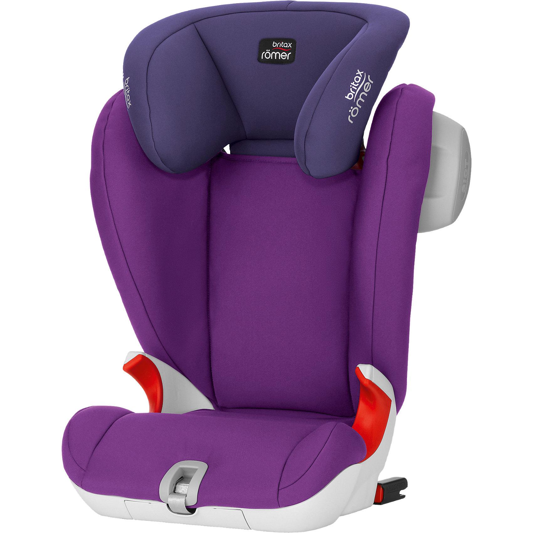 Автокресло Britax Romer KIDFIX SL SICT, 15-36 кг, Mineral PurpleГруппа 2-3 (От 15 до 36 кг)<br>Автокресло KIDFIX SL SICT- прекрасный вариант для вашего ребенка! XP-PAD технология позволяет максимально обезопасить вашего малыша за счет обеспечения равномерного распределения ударной нагрузки и дополнительной защиты шеи при лобовом столкновении. Крепление к автомобильным скобам Isofix в KidFix SL Sict осуществляется при помощи системы Soft Latch (SL). Здесь в отличие от классических креплений карабины соединены с каркасом детского автокресла гибкими ремнями, а не жёсткой направляющей. Боковая подушка SICT смягчает энергию удара и может устанавливается со стороны двери. Отсутствие подлокотников устраняет вероятность неправильного пристегивания ребенка. V-образная спинка обеспечивает правильную осанку и высокую степень защиты, большой, закругленный вниз подголовник, обеспечивает защиту от бокового удара и удобно поддерживает голову ребенка во время сна. Чехол с мягкой подкладкой выполнен из высококачественных гипоаллергенных материалов, легко снимается и стирается в машинке. <br><br>Дополнительная информация:<br><br>- Материал: пластик, текстиль.<br>- Размер: 45х66/85х49-55<br>- Высота спинки: 66-85 см.<br>- Вес: 6,7 кг.<br>- Крепление: ремнями безопасности или Isofix.<br>- Индикаторы, подтверждающие закрепление фиксаторов Isofix.<br>- SICT - Side Impact Cushion Technology, усиленная боковая защита.<br>- Подголовник регулируется в 11 положениях. <br>- Спинка принимает положение по углу наклона сидения автомобиля.<br><br>Автокресло KIDFIX SL SICT, 15-36 кг., Britax Romer (Бритакс Ремер), Mineral Purple, можно купить в нашем магазине.<br><br>Ширина мм: 685<br>Глубина мм: 510<br>Высота мм: 425<br>Вес г: 7350<br>Цвет: лиловый<br>Возраст от месяцев: 36<br>Возраст до месяцев: 144<br>Пол: Женский<br>Возраст: Детский<br>SKU: 4292302