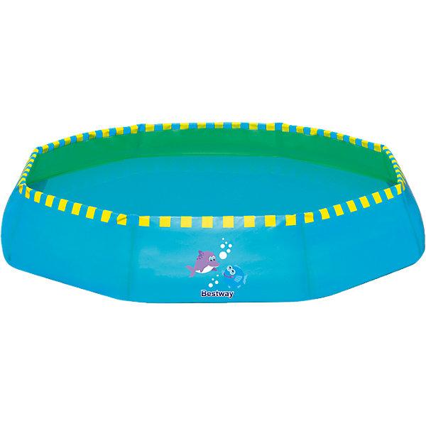 Ненадувной бассейн, 117 л синий, BestwayБассейны<br>Ненадувной бассейн, Bestway, станет замечательным развлечением для Вашего ребенка в жаркие летние дни. Бассейн быстро и легко устанавливается, надувать и сдувать не требуется. Жесткие бортики выполнены из прочного материала ПВХ, который способен выдерживать большие нагрузки. Бассейн компактно складывается в небольшую сумку, которая легко трансформируется в ведро для наполнения водой. Благодаря небольшим размерам бассейн прекрасно впишется в размеры дачного участка и подойдет для отдыха на природе.<br><br>Дополнительная информация:<br><br>- Материал: ПВХ.<br>- Объем: 117 л.<br>- Размер: 99 х 99 х 20 см.<br>- Размер упаковки: 42,7 х 28,6 х 14,4 см.<br>- Вес: 0,871 кг. <br><br>Ненадувной бассейн, 117 л., синий, Bestway, можно купить в нашем интернет-магазине.<br><br>Ширина мм: 441<br>Глубина мм: 317<br>Высота мм: 147<br>Вес г: 861<br>Возраст от месяцев: 24<br>Возраст до месяцев: 2147483647<br>Пол: Мужской<br>Возраст: Детский<br>SKU: 4292331