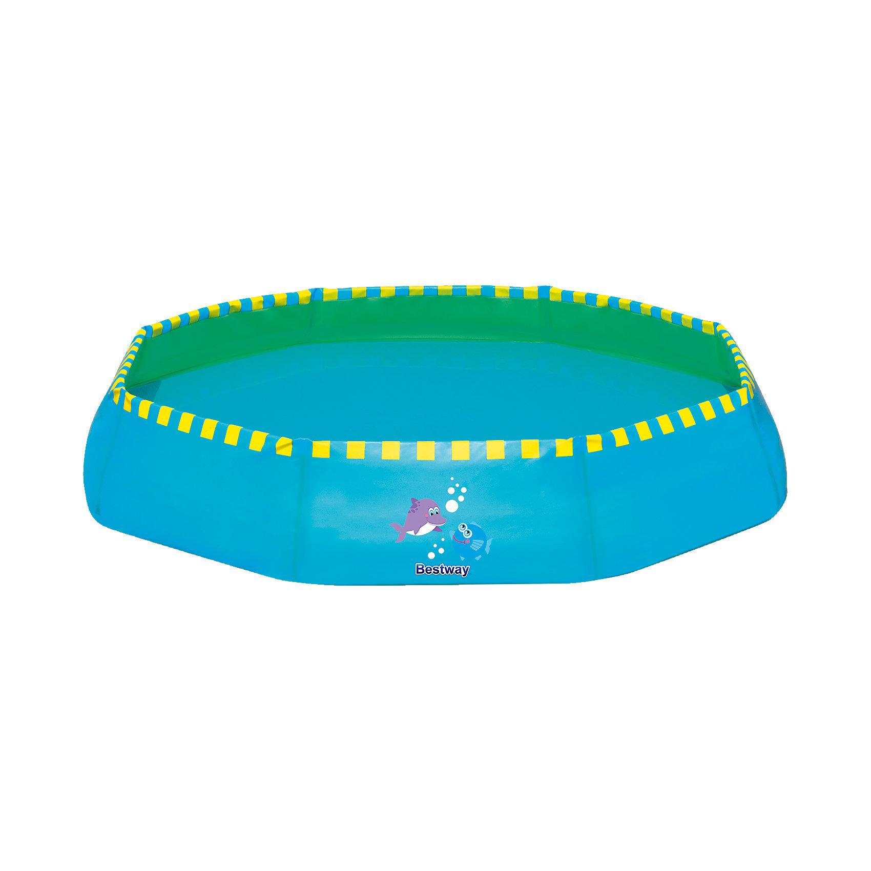 Ненадувной бассейн, 117 л синий, BestwayНенадувной бассейн, Bestway, станет замечательным развлечением для Вашего ребенка в жаркие летние дни. Бассейн быстро и легко устанавливается, надувать и сдувать не требуется. Жесткие бортики выполнены из прочного материала ПВХ, который способен выдерживать большие нагрузки. Бассейн компактно складывается в небольшую сумку, которая легко трансформируется в ведро для наполнения водой. Благодаря небольшим размерам бассейн прекрасно впишется в размеры дачного участка и подойдет для отдыха на природе.<br><br>Дополнительная информация:<br><br>- Материал: ПВХ.<br>- Объем: 117 л.<br>- Размер: 99 х 99 х 20 см.<br>- Размер упаковки: 42,7 х 28,6 х 14,4 см.<br>- Вес: 0,871 кг. <br><br>Ненадувной бассейн, 117 л., синий, Bestway, можно купить в нашем интернет-магазине.<br><br>Ширина мм: 450<br>Глубина мм: 300<br>Высота мм: 140<br>Вес г: 880<br>Возраст от месяцев: 24<br>Возраст до месяцев: 2147483647<br>Пол: Мужской<br>Возраст: Детский<br>SKU: 4292331