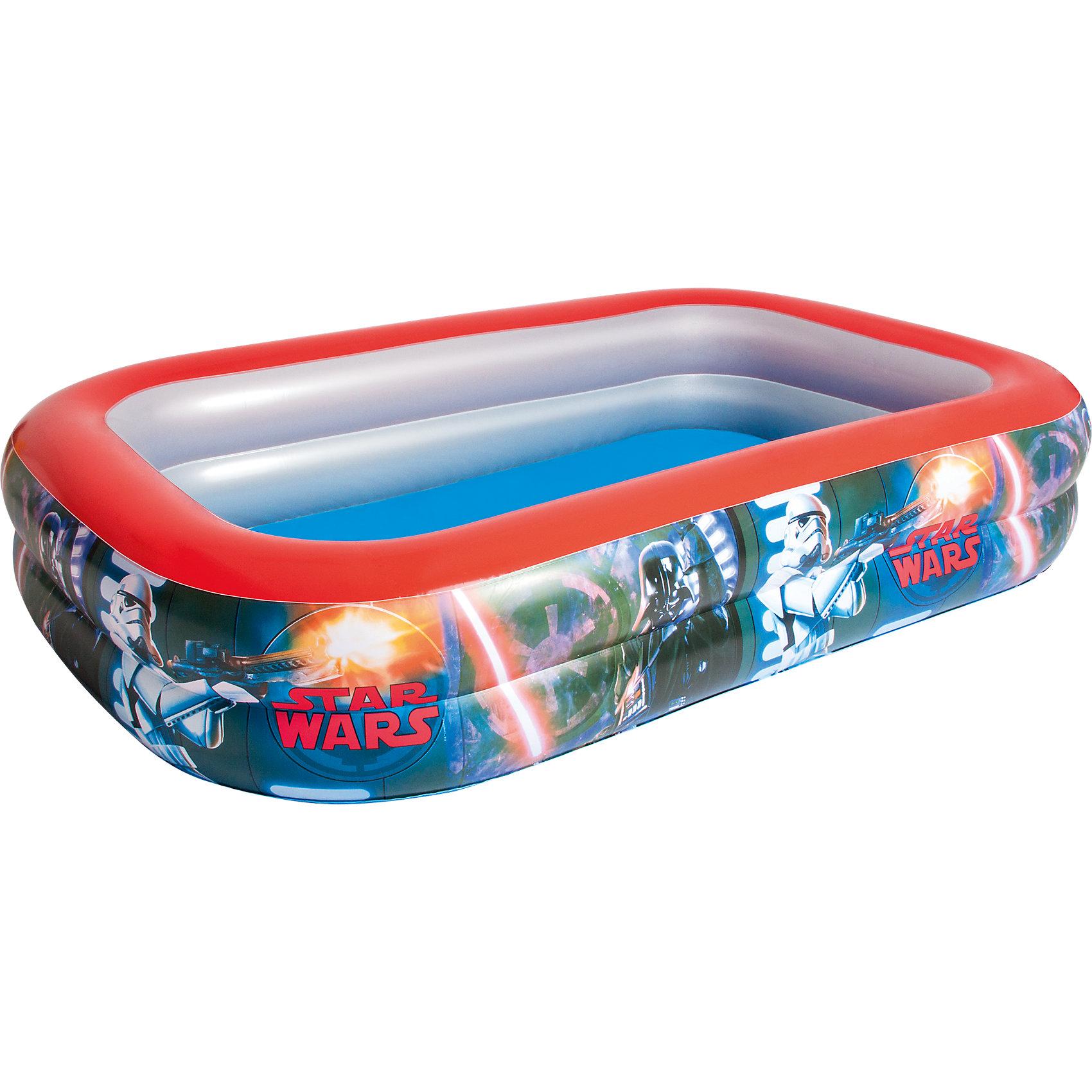 Bestway Прямоугольный бассейн Звёздные войны, Bestway бассейн tom jerry bestway 61х15 см bw93043