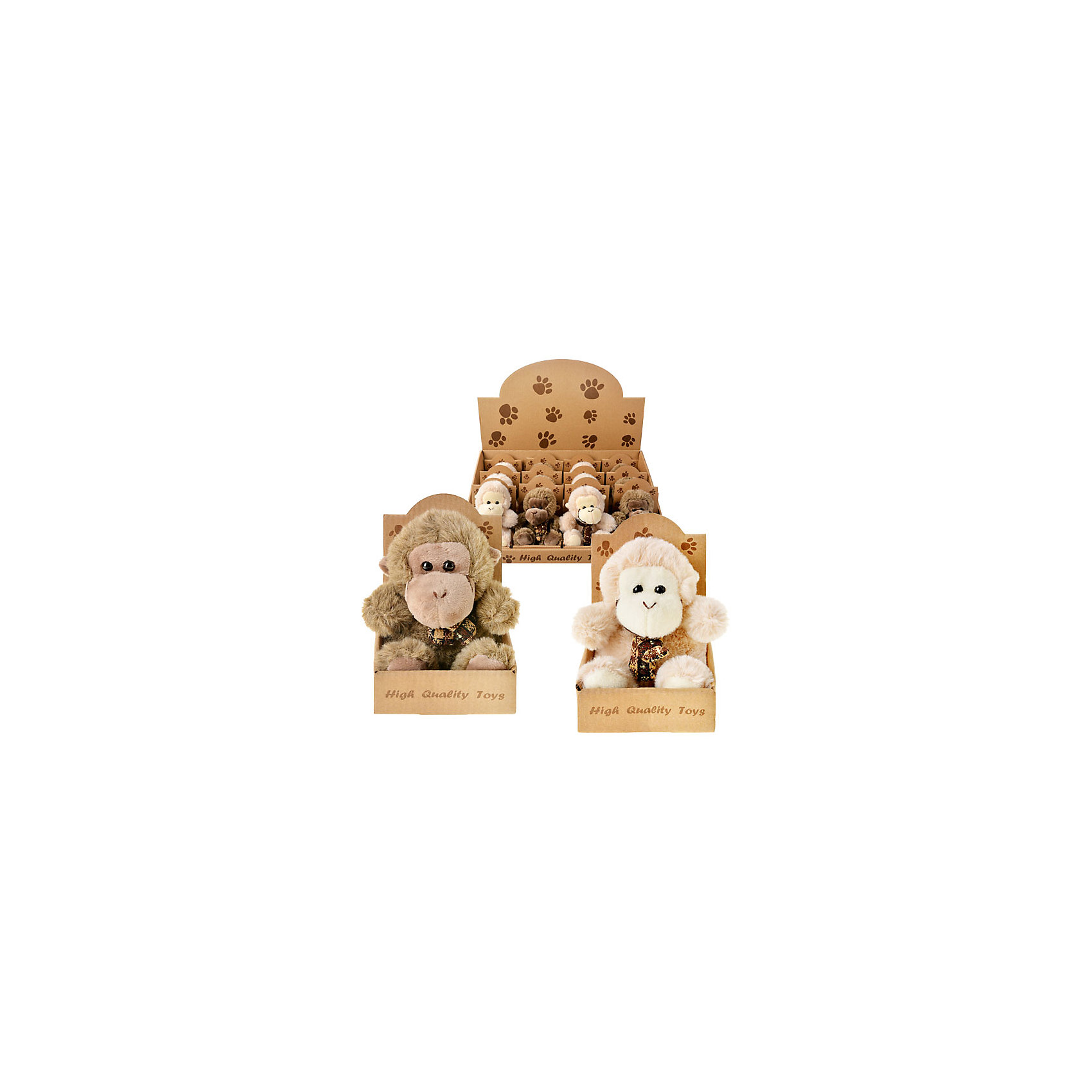 TUKZAR Мягкая игрушка Обезьяна, в ассортименте мягкая игрушка свинка городецкий стиль 23 см в ассортименте