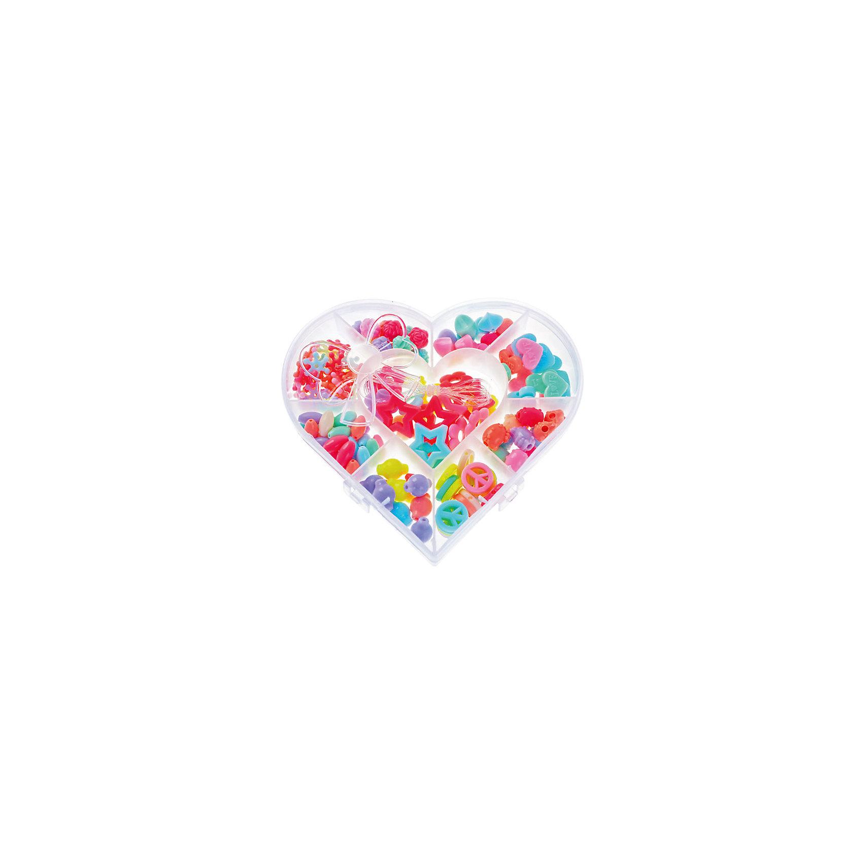 Набор подвесок для детской бижутерии СердцеНабор подвесок для детской бижутерии Сердце порадует всех юных модниц. Из ярких бусинок получится множество оригинальных и красивых украшений. Поделки из мелких деталей прекрасно развивают мелкую моторику и творческие способности ребенка. <br><br>Дополнительная информация:<br><br>- Материал: пластик.<br>- Размер упаковки: 14х15 см. <br>- Цвет: розовый, голубой, желтый, сиреневый.<br><br>Набор подвесок для детской бижутерии Сердце можно купить в нашем магазине.<br><br>Ширина мм: 140<br>Глубина мм: 150<br>Высота мм: 30<br>Вес г: 170<br>Возраст от месяцев: 36<br>Возраст до месяцев: 2147483647<br>Пол: Женский<br>Возраст: Детский<br>SKU: 4293059