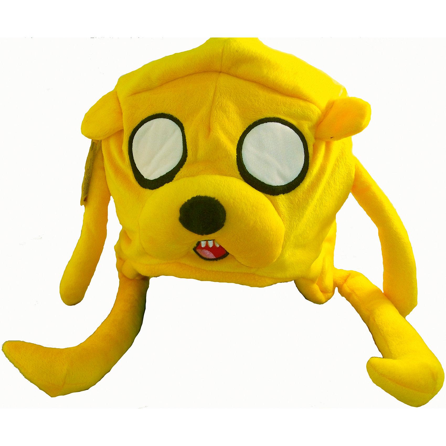 Шапка Джейк,  Время приключенийЛюбимые герои<br>Шапка Джейк,  Время приключений – это забавная шапка для настоящего поклонника мультсериала Время Приключений!<br>Мягкая, плюшевая шапка,  выполненная в виде пса Джейка из мультсериала Adventure Time (Приключения с Финном и Джейком), защитит от холода. Одев эту удобную, теплую и стильную шапку, Вы почувствуете себя Джейком и попадете в различные веселые приключения! По размеру шапка подойдет на взрослого, на детскую голову подойдет как вторая шапка.<br><br>Дополнительная информация:<br><br>- Материал: плюш<br><br>Шапку Джейк,  Время приключений можно купить в нашем интернет-магазине.<br><br>Ширина мм: 200<br>Глубина мм: 250<br>Высота мм: 150<br>Вес г: 250<br>Возраст от месяцев: 108<br>Возраст до месяцев: 144<br>Пол: Унисекс<br>Возраст: Детский<br>SKU: 4293063