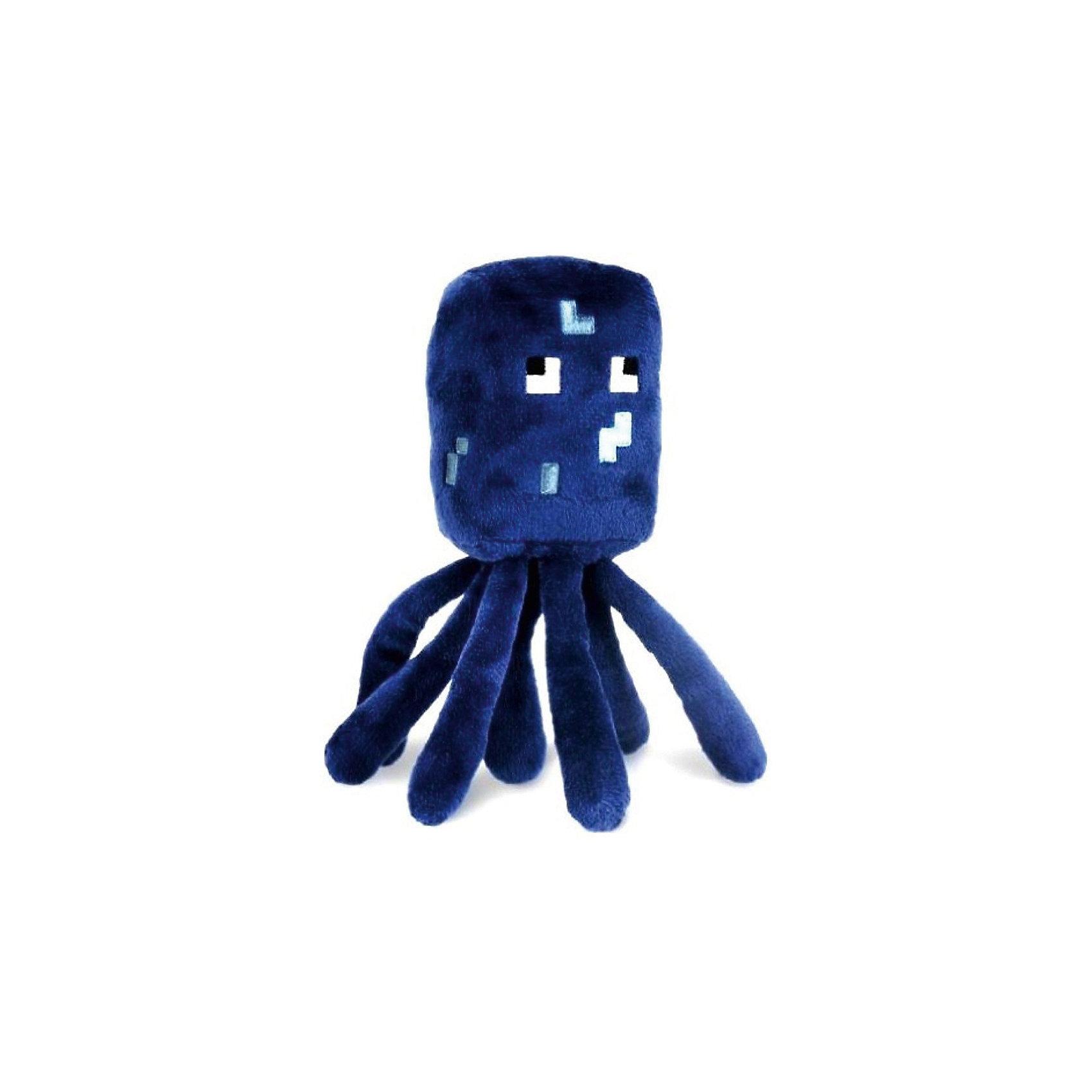 Игрушка Осьминог, 18 см, MinecraftИгрушка Осьминог, 18 см, Minecraft (Майнкрафт) - это доброжелательный моб из культовой игры Майнкрафт.<br>Плюшевая игрушка Осьминог (Squid) создана по мотивам самой популярной игры в мире – Minecraft. Спрут обитает в воде на большой глубине. Он доброжелателен и позволяет получать чернильные мешки. Игрушка сделана из качественных материалов, очень мягкая и приятная на ощупь. Осьминог – идеальный друг, где бы вы ни играли. Он удачно дополнит Вашу коллекцию персонажей из мира Майнкрафт или станет хорошим подарком фанату игры.<br><br>Дополнительная информация:<br><br>- Материал: плюш<br>- Размер: 18 см.<br><br>Игрушку Осьминог, 18 см, Minecraft (Майнкрафт) можно купить в нашем интернет-магазине.<br><br>Ширина мм: 100<br>Глубина мм: 150<br>Высота мм: 180<br>Вес г: 200<br>Возраст от месяцев: 108<br>Возраст до месяцев: 144<br>Пол: Унисекс<br>Возраст: Детский<br>SKU: 4293068