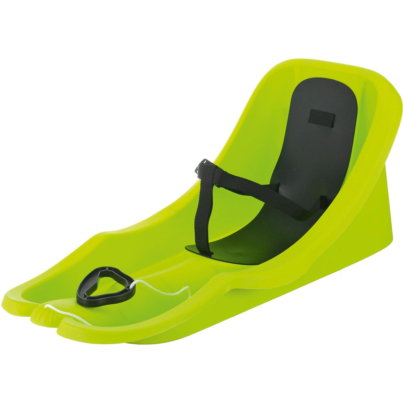 Санки Bambi Bob, лимонныеЭта яркая и удобная модель не оставит равнодушным ни одного ребенка! Высокая спинка и бортики обеспечат максимальную безопасность и не дадут ребенку вывалиться при резких поворотах. Санки выполнены из высококачественного прочного пластика, имеют эргономичную форму, оснащены ремнями безопасности и удобной накладкой на сиденье для еще большего комфорта. Отличный вариант для зимних забав! Игры и прогулки на свежем воздухе очень полезны для детей, они укрепляют иммунитет ребенка и, конечно, дарят хорошее настроение. <br><br>Дополнительная информация:<br><br>- Материал: пластик.<br>- Размер: 74х38х33 см.<br>- Накладка на сиденье.<br>- Трехточечные ремни безопасности. <br>- Буксирный шнур.<br>- Цвет: желтый (лимон).  <br>- Максимальная нагрузка: 35 кг.<br>- Вес: 1,8 кг.<br><br>Санки Bambi Bob можно купить в нашем магазине.<br><br>Ширина мм: 740<br>Глубина мм: 380<br>Высота мм: 330<br>Вес г: 1350<br>Возраст от месяцев: 6<br>Возраст до месяцев: 36<br>Пол: Унисекс<br>Возраст: Детский<br>SKU: 4295754