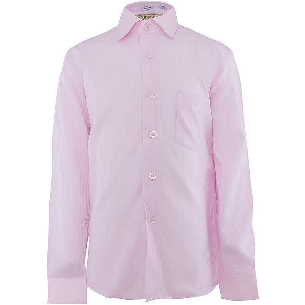 Купить Рубашка для мальчика Tsarevich, Китай, розовый, 146/152, 128/134, 164/170, 152/158, 140/146, 134/140, 122/128, 158/164, Мужской