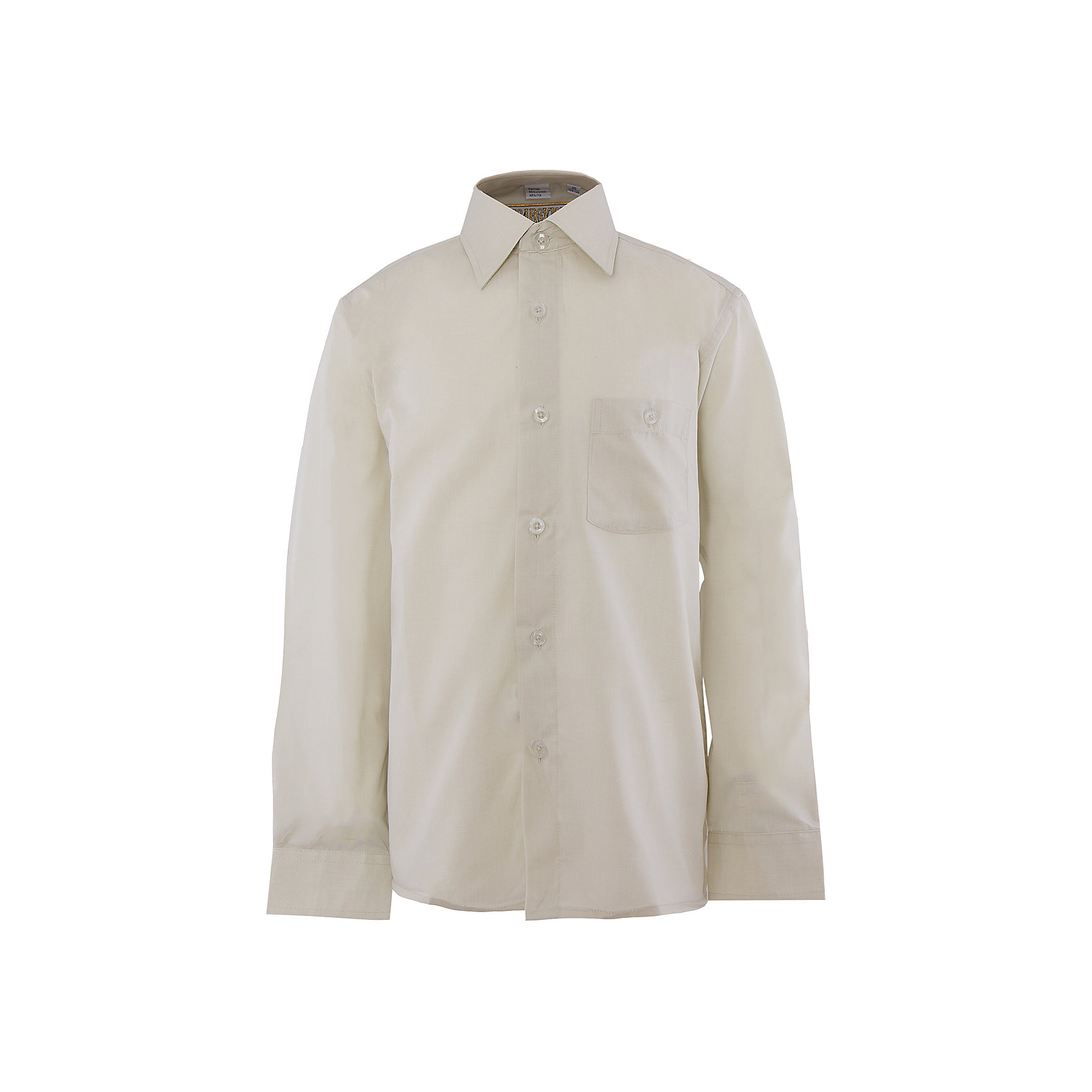 Рубашка для мальчика TsarevichРубашка для мальчика от российской марки Tsarevich<br><br>Стильная однотонная рубашка с длинным рукавом хорошо сидит, не стесняет движения. Материал - гипоаллергенный, дышащий и приятный на ощупь.<br><br>Особенности модели:<br><br>- материал - легкий, с содержанием хлопка;<br>- цвет - серо-зеленый;<br>- карман на груди с пуговицей;<br>- рукав длинный;<br>- застежки-пуговицы;<br>- манжеты;<br>- отложной воротник;<br>- пуговицы на манжетах.<br><br>Дополнительная информация:<br><br>Состав: 80% хлопок, 20% полиэстер<br><br>Габариты:<br><br>длина рукава - 45 см;<br>длина по спинке - 53 см.<br><br>* соответствует размеру 30/128-134<br><br>Уход за изделием:<br><br>стирка в машине при температуре до 40°С,<br>не отбеливать,<br>гладить на средней температуре.<br><br>Рубашку для мальчика от российской марки Tsarevich (Царевич) можно купить в нашем магазине.<br><br>Ширина мм: 174<br>Глубина мм: 10<br>Высота мм: 169<br>Вес г: 157<br>Цвет: зеленый<br>Возраст от месяцев: 108<br>Возраст до месяцев: 120<br>Пол: Мужской<br>Возраст: Детский<br>Размер: 134/140,128/134,146/152,158/164,122/128,164/170,152/158,140/146<br>SKU: 4295899