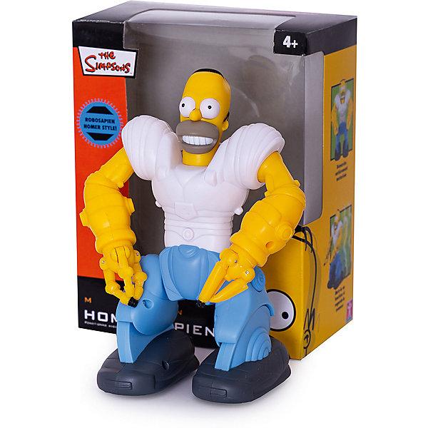 Мини Робот Минисапинс, WowWeeРоботы<br>Робот Минисапинс выполнен в виде героя известного мультсериала Симпсоны, Гомера Симпсона. Робот подходит даже для маленьких детей, т.к. работает без пульта ДУ. Игрушка умеет ходить, сгибать руки и даже удерживать мелкие предметы в ладонях. Пусть этот яркий робот станет первым в коллекции вашего малыша! <br><br>Дополнительная информация:<br><br>- Материал: пластик, металл.<br>- Размер: 15х8х18 см.<br>- Ходит.<br>- Руки сгибаются.<br>- Может удерживать предметы в ладонях.<br>- Элемент питания: 2 ААА батарейки (не входят в комплект).<br><br>Мини-робота Минисапинса, WowWee, можно купить в нашем магазине.<br>Ширина мм: 175; Глубина мм: 100; Высота мм: 200; Вес г: 440; Возраст от месяцев: 36; Возраст до месяцев: 84; Пол: Унисекс; Возраст: Детский; SKU: 4298958;