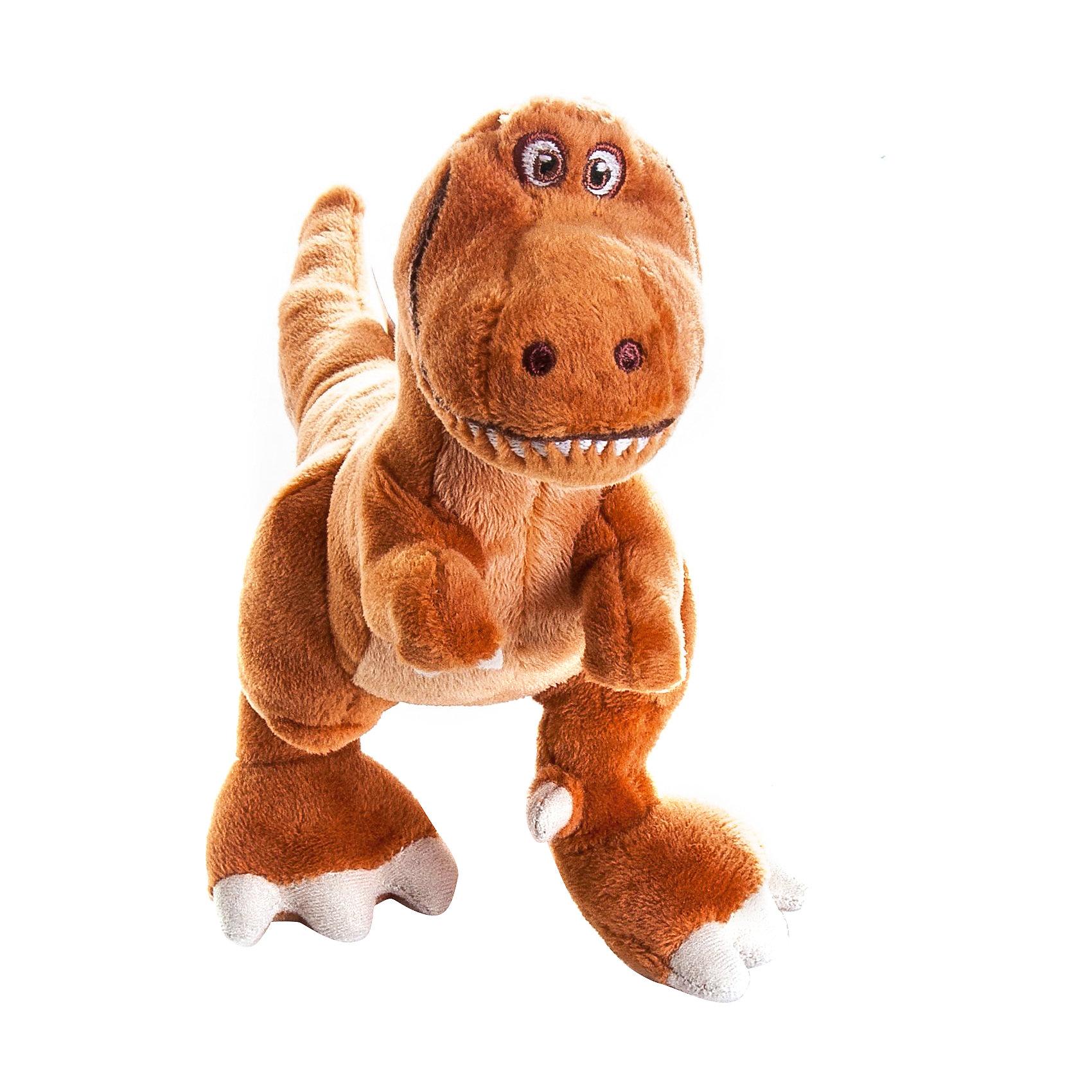 Мягкая игрушка  Ремси, 17 см, Хороший динозаврЗабавный динозаврик Ремси  - оригинальная мягкая игрушка, которая станет приятным сюрпризом для детей любого возраста. Игрушка выполнена по мотивам нового диснеевского мультфильма Хороший динозавр (The Good Dinosaur) и внешне очень похожа на своего экранного персонажа. Ремси - девочка-тираннозавр, жизнерадостная, смелая и находчивая. У нее коричневая шерстка, длинный хвост, большие когтистые лапы и веселая мордочка. Игрушка очень мягкая и приятная на ощупь, изготовлена из качественных экологичных материалов и совершенно безопасна для детского здоровья. Способствует развитию фантазии и воображения, тренирует тактильное и визуальное восприятие.<br><br>Дополнительная информация:<br><br>- Материал: плюш, синтепон.<br>- Высота игрушки: 17 см.<br>- Размер упаковки: 20 х 7 х 8 см.<br>- Вес: 90 гр.<br><br>Мягкую игрушку Ремси, Хороший динозавр, можно купить в нашем интернет-магазине.<br><br>Ширина мм: 80<br>Глубина мм: 200<br>Высота мм: 70<br>Вес г: 83<br>Возраст от месяцев: 36<br>Возраст до месяцев: 192<br>Пол: Унисекс<br>Возраст: Детский<br>SKU: 4302506