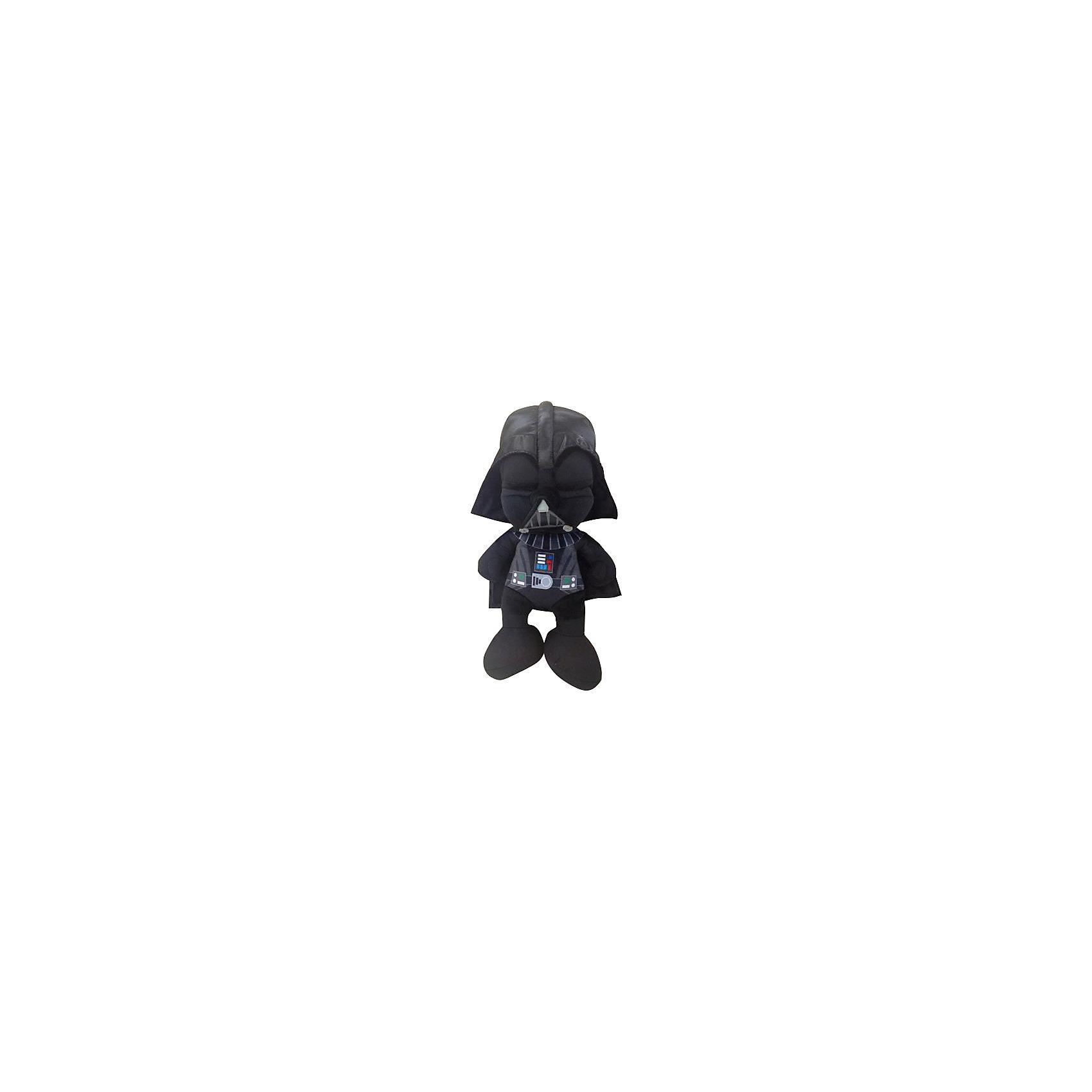 Мягкая игрушка Дарт Вейдер, 18 см, Звездные войныДарт Вейдер, Звездные войны  - оригинальная мягкая игрушка, которая станет приятным сюрпризом для детей любого возраста. Игрушка изображает грозного персонажа Дарта Вейдера из знаменитой киноэпопеи Звездные войны (Star Wars), но выполнена в мультипликационном стиле, что делает ее более забавной и совсем не страшной. Фигурка Дарта Вейдера очень мягкая и приятная на ощупь, с хорошо прошитыми элементами - панелью управления на груди, поясом и  защитной решеткой на шлеме. Изготовлена из качественных экологичных материалов и совершенно безопасна для детского здоровья. <br><br>Дополнительная информация:<br><br>- Материал: плюш, синтепон.<br>- Высота игрушки: 18 см.<br>- Размер упаковки: 8 х 14 х 7 см.<br>- Вес: 100 гр.<br><br>Мягкую игрушку Дарт Вейдер, Звездные войны, можно купить в нашем интернет-магазине.<br><br>Ширина мм: 80<br>Глубина мм: 140<br>Высота мм: 70<br>Вес г: 83<br>Возраст от месяцев: 36<br>Возраст до месяцев: 1188<br>Пол: Мужской<br>Возраст: Детский<br>SKU: 4302508