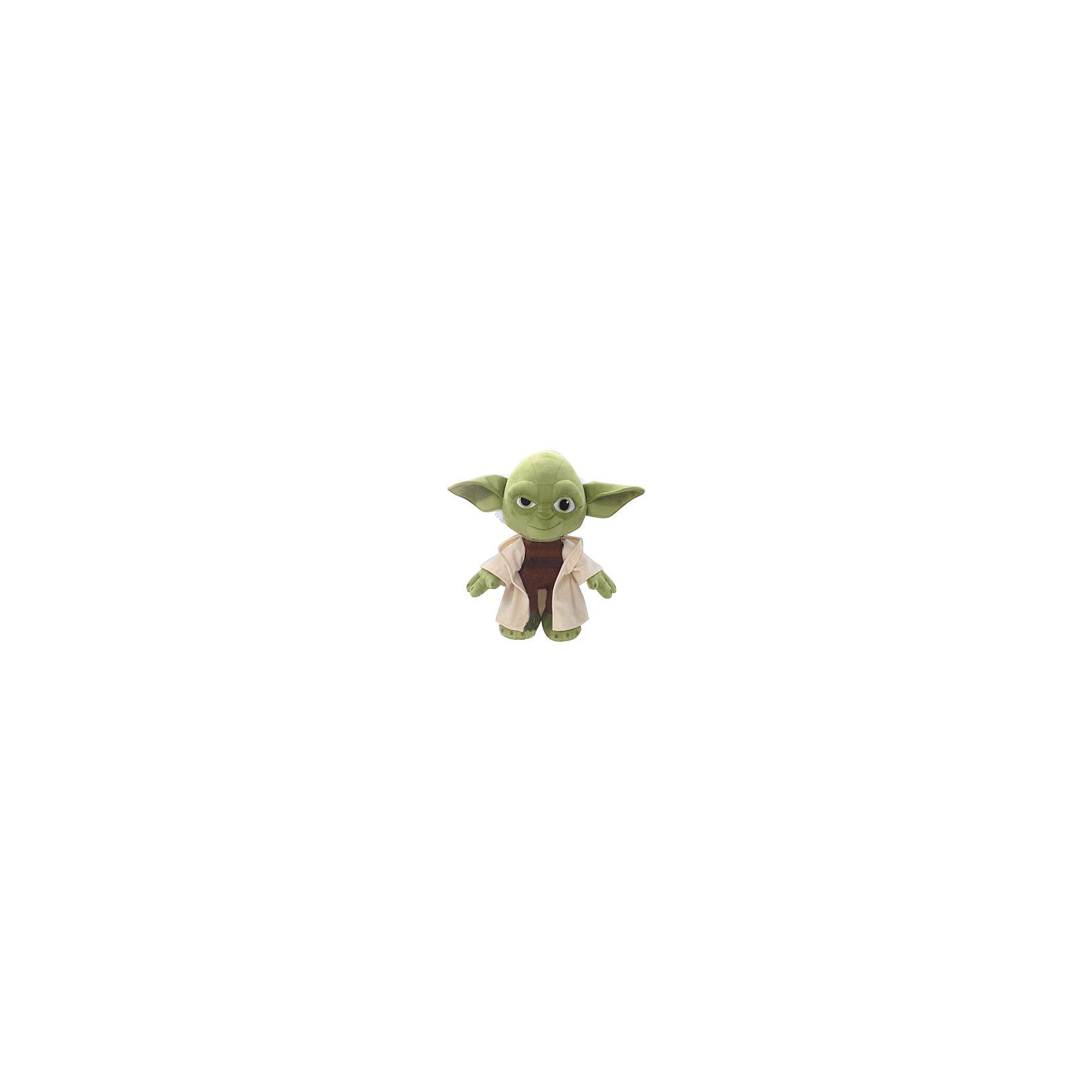 Мягкая игрушка Йода, 18 см, Звездные войныМастер Йода, Звездные войны  - оригинальная мягкая игрушка, которая станет приятным сюрпризом для детей любого возраста. Игрушка изображает популярного персонажа из знаменитой киноэпопеи Звездные войны (Star Wars). Мастер Йода - бывший магистр Ордена Джедаев, один из самых сильных обладателей Силы, он прожил более 900 лет, поэтому по праву считается одним из мудрейших существ во Вселенной. Фигурка Йоды очень мягкая и приятная на ощупь, с хорошо прошитыми деталями, изготовлена из качественных экологичных материалов и совершенно безопасна для детского здоровья. <br><br>Дополнительная информация:<br><br>- Материал: плюш, синтепон.<br>- Высота игрушки: 18 см.<br>- Размер упаковки: 8 х 13 х 8 см.<br>- Вес: 100 гр.<br><br>Мягкую игрушку Йода, Звездные войны, можно купить в нашем интернет-магазине.<br><br>Ширина мм: 80<br>Глубина мм: 130<br>Высота мм: 80<br>Вес г: 80<br>Возраст от месяцев: 36<br>Возраст до месяцев: 1188<br>Пол: Мужской<br>Возраст: Детский<br>SKU: 4302509