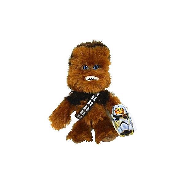 Мягкая игрушка Чубакка, 18 см, Звездные войныМягкие игрушки из мультфильмов<br>Чубакка, Звездные войны  - оригинальная мягкая игрушка, которая станет приятным сюрпризом для детей любого возраста. Игрушка изображает популярного персонажа Чубакку из знаменитой киноэпопеи Звездные войны (Star Wars). Забавный волосатый гигант из народа вуки прекрасный пилот и механик, его туловище полностью покрыто шерстью, видны только его глаза. Фигурка Чубакки очень мягкая и приятная на ощупь, с хорошо прошитыми деталями и разным цветом волос. Изготовлена из качественных экологичных материалов и совершенно безопасна для детского здоровья. <br><br>Дополнительная информация:<br><br>- Материал: плюш, синтепон.<br>- Высота игрушки: 18 см.<br>- Размер упаковки: 8 х 12 х 7 см.<br>- Вес: 100 гр.<br><br>Мягкую игрушку Чубакка, Звездные войны, можно купить в нашем интернет-магазине.<br><br>Ширина мм: 80<br>Глубина мм: 120<br>Высота мм: 70<br>Вес г: 70<br>Возраст от месяцев: 36<br>Возраст до месяцев: 1188<br>Пол: Мужской<br>Возраст: Детский<br>SKU: 4302510