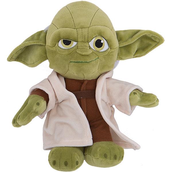 Мягкая игрушка Йода, 25 см, Звездные войныМягкие игрушки из мультфильмов<br>Мастер Йода, Звездные войны  - оригинальная мягкая игрушка, которая станет приятным сюрпризом для детей любого возраста. Игрушка изображает популярного персонажа из знаменитой киноэпопеи Звездные войны (Star Wars). Мастер Йода - бывший магистр Ордена Джедаев, один из самых сильных обладателей Силы, он прожил более 900 лет, поэтому по-праву считается одним из мудрейших существ во Вселенной. Фигурка Йоды очень мягкая и приятная на ощупь, с хорошо прошитыми деталями, изготовлена из качественных экологичных материалов и совершенно безопасна для детского здоровья. <br><br>Дополнительная информация:<br><br>- Материал: плюш, синтепон.<br>- Высота игрушки: 25 см.<br>- Размер упаковки: 26 х 15 х 10 см.<br>- Вес: 185 гр.<br><br>Мягкую игрушку Йода, Звездные войны, можно купить в нашем интернет-магазине.<br><br>Ширина мм: 120<br>Глубина мм: 200<br>Высота мм: 120<br>Вес г: 185<br>Возраст от месяцев: 36<br>Возраст до месяцев: 1188<br>Пол: Мужской<br>Возраст: Детский<br>SKU: 4302515