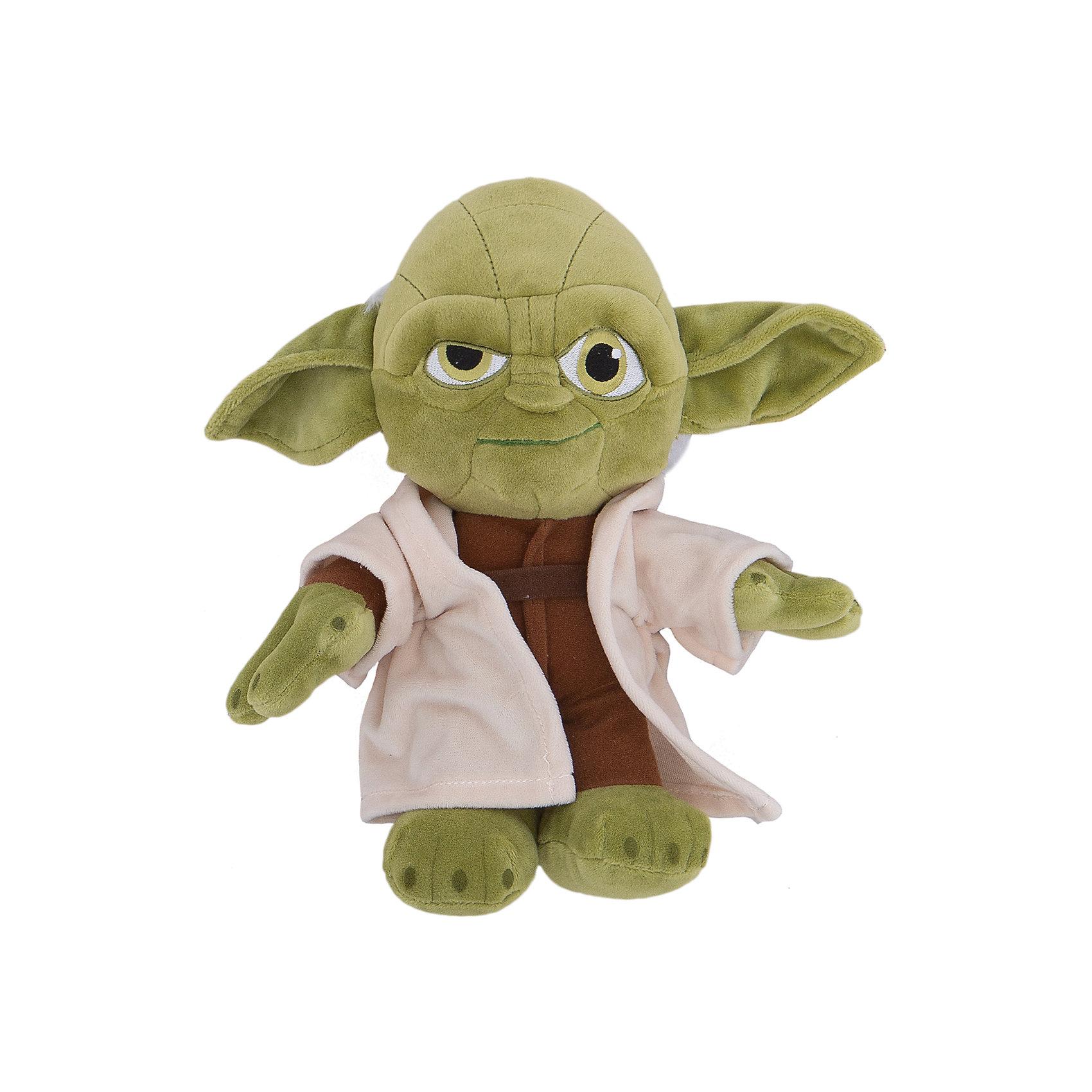 Мягкая игрушка Йода, 25 см, Звездные войныМастер Йода, Звездные войны  - оригинальная мягкая игрушка, которая станет приятным сюрпризом для детей любого возраста. Игрушка изображает популярного персонажа из знаменитой киноэпопеи Звездные войны (Star Wars). Мастер Йода - бывший магистр Ордена Джедаев, один из самых сильных обладателей Силы, он прожил более 900 лет, поэтому по-праву считается одним из мудрейших существ во Вселенной. Фигурка Йоды очень мягкая и приятная на ощупь, с хорошо прошитыми деталями, изготовлена из качественных экологичных материалов и совершенно безопасна для детского здоровья. <br><br>Дополнительная информация:<br><br>- Материал: плюш, синтепон.<br>- Высота игрушки: 25 см.<br>- Размер упаковки: 26 х 15 х 10 см.<br>- Вес: 185 гр.<br><br>Мягкую игрушку Йода, Звездные войны, можно купить в нашем интернет-магазине.<br><br>Ширина мм: 120<br>Глубина мм: 200<br>Высота мм: 120<br>Вес г: 185<br>Возраст от месяцев: 36<br>Возраст до месяцев: 1188<br>Пол: Мужской<br>Возраст: Детский<br>SKU: 4302515