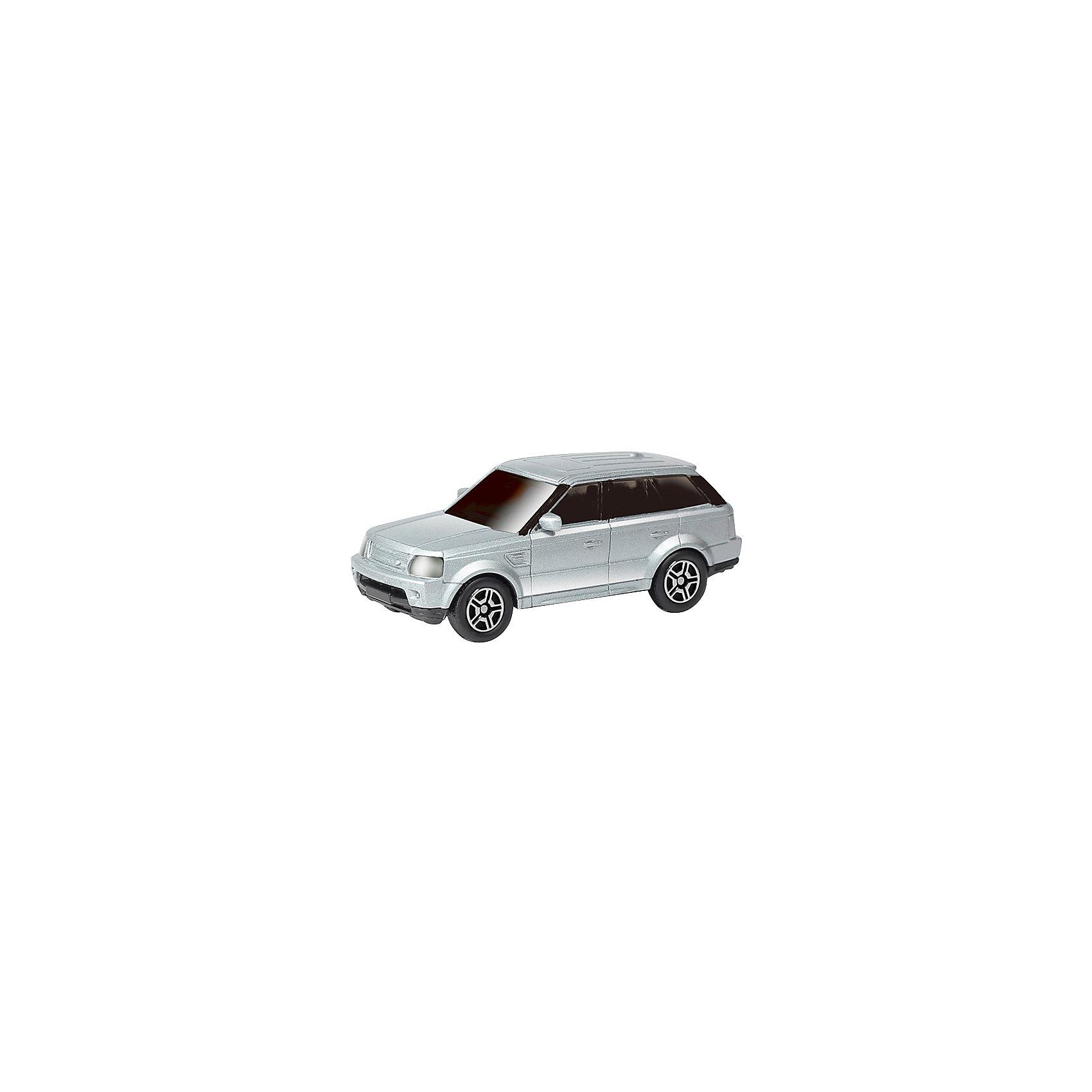 Машинка Range Rover Sport, KRUTTIНевероятно стильная и красивая модель, выполненная в масштабе 1:64 приведет в восторг любого мальчишку. Машина прекрасно детализирована, очень похожа на настоящую. Колеса свободно вращаются. Игрушка выполнена из высококачественных прочных материалов. Автомобиль займет достойное место в коллекции вашего юного автолюбителя.  <br><br>Дополнительная информация:<br><br>- Масштаб: 1:64.<br>- Материал: металл, пластик, резина. <br>- Размер: 7х2,8,2,6. см.<br>- Функции: свободный ход колес.<br><br>Машинку Range Rover Sport, KRUTTI (Крутти), можно купить в нашем магазине.<br><br>Ширина мм: 90<br>Глубина мм: 40<br>Высота мм: 40<br>Вес г: 50<br>Возраст от месяцев: 36<br>Возраст до месяцев: 168<br>Пол: Мужской<br>Возраст: Детский<br>SKU: 4304445