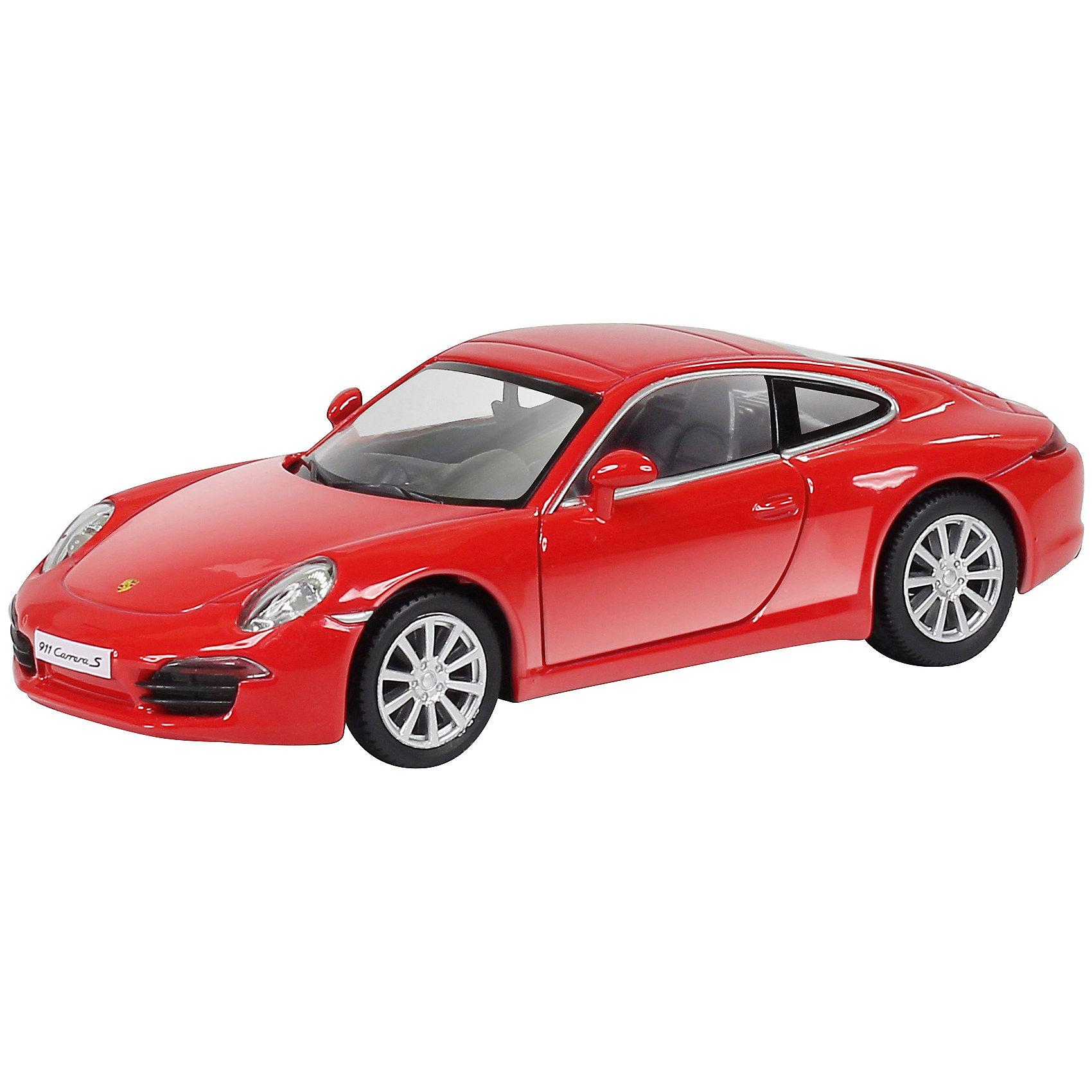 Машинка Porsche 911 Carrera S, KRUTTIКоллекционные модели<br>Невероятно стильная и красивая модель, выполненная в масштабе 1:32 приведет в восторг любого мальчишку. Машина прекрасно детализирована, очень похожа на настоящую. Колеса свободно вращаются, двери открываются. Игрушка выполнена из высококачественных прочных материалов. Автомобиль займет достойное место в коллекции вашего юного автолюбителя.  <br><br>Дополнительная информация:<br><br>- Масштаб: 1:32.<br>- Материал: металл, пластик, резина. <br>- Размер: 12,6х5х3,5 см.<br>- Функции: свободный ход колес, открывающиеся двери.<br><br>Машинку Porsche 911 Carrera S, KRUTTI (Крутти), можно купить в нашем магазине.<br><br>Ширина мм: 160<br>Глубина мм: 80<br>Высота мм: 70<br>Вес г: 188<br>Возраст от месяцев: 36<br>Возраст до месяцев: 168<br>Пол: Мужской<br>Возраст: Детский<br>SKU: 4304449