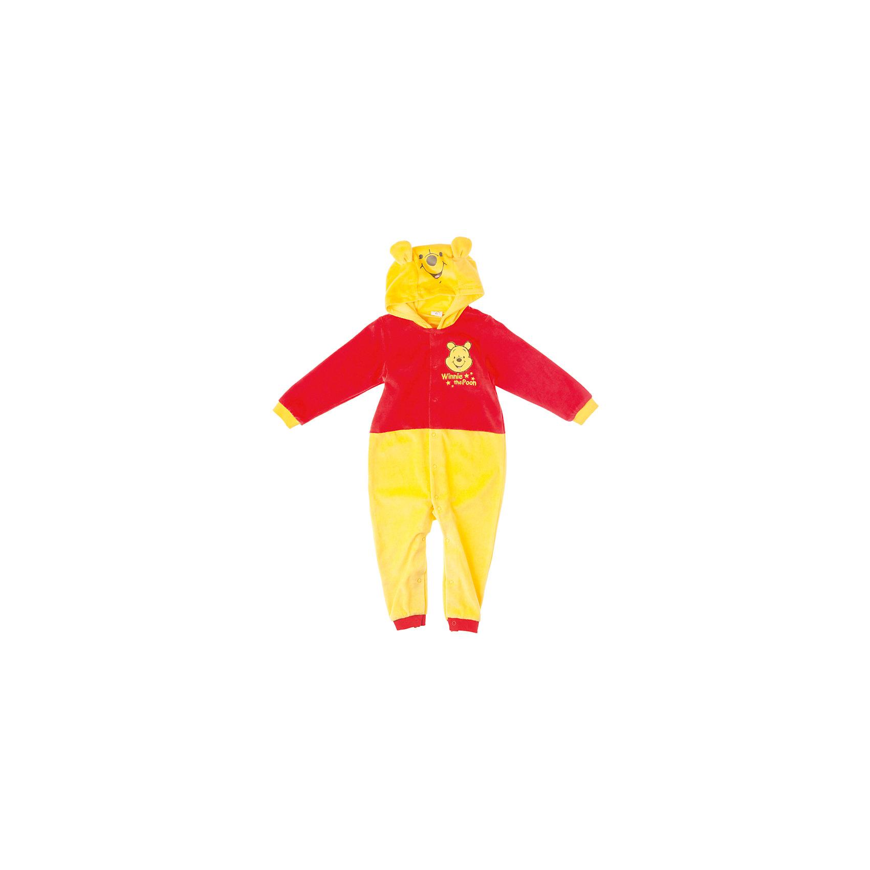 Комбинезон для мальчика PlayTodayКомбинезон для мальчика PlayToday <br><br>Состав: 80% хлопок, 20% полиэстер <br><br>Малыш будет выглядеть мило и забавно в мягком костюме Винни-Пуха. <br>Спереди удобные застежки-кнопочки. <br>На капюшоне есть ушки.<br><br>Ширина мм: 157<br>Глубина мм: 13<br>Высота мм: 119<br>Вес г: 200<br>Цвет: желтый<br>Возраст от месяцев: 6<br>Возраст до месяцев: 9<br>Пол: Мужской<br>Возраст: Детский<br>Размер: 74,86,92,80,68<br>SKU: 4305563
