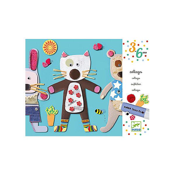 Набор для творчества Аппликация для малышейБумага<br>Набор для творчества Аппликация для малышей - это замечательный многоразовый набор для детского творчества.<br>Красочные и необычные аппликации способствуют развитию творческого мышления у детей. Воспользовавшись клеем и добавив немного фантазии, Вы сможете создать вместе со своим ребенком оригинальную и неповторимую аппликацию мишки, котика, мышки и зайчика. Фон и крупные детали аппликации выполнены из плотного ламинированного картона. Также в аппликации используется ткань, пластик, соломинки, движущиеся глазки. Аппликация многоразовая, после высыхания картинку можно разобрать. После протирания фона влажной салфеткой можно клеить аппликацию снова. Готовые картинки станут прекрасным подарком, сделанным своими руками, или же дополнят интерьер детской комнаты.<br><br>Дополнительная информация:<br><br>- В наборе: 4 картонных картинки - фона, 4 конверта с элементами аппликации, безопасный клей-карандаш, пошаговая инструкция<br>- Размер упаковки: 30 х 24 х 4 см.<br>- Вес: 750гр.<br><br>Набор для творчества Аппликация для малышей можно купить в нашем интернет-магазине.<br><br>Ширина мм: 300<br>Глубина мм: 240<br>Высота мм: 40<br>Вес г: 750<br>Возраст от месяцев: 36<br>Возраст до месяцев: 72<br>Пол: Унисекс<br>Возраст: Детский<br>SKU: 4305753