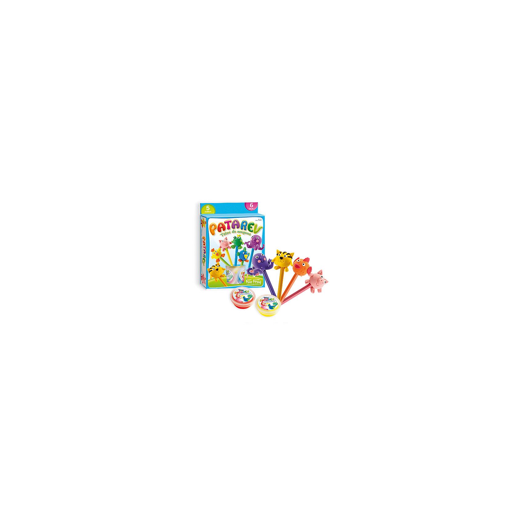 SentoSphere Набор пластилина для детской лепки, 5 цветов наборы для лепки sentosphere набор для творчества текстурный пластилин серия патабул