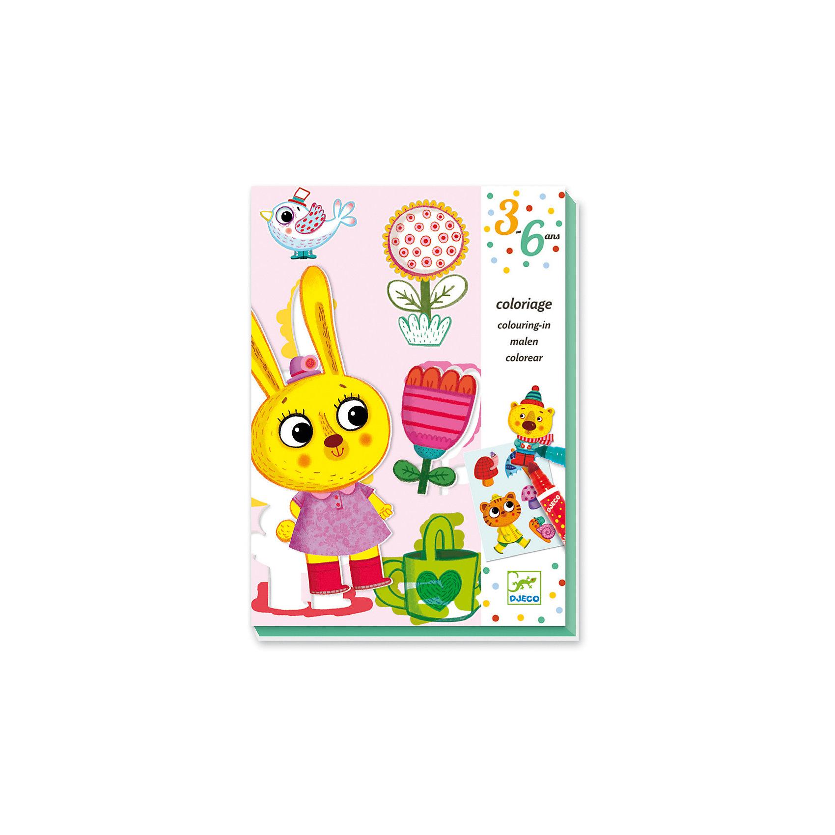 Набор для творчества  для малышей «Времена года»Набор для творчества  для малышей «Времена года» – этот набор для раскрашивания с дружелюбными зверушками обязательно заинтересуют малыша.<br>«Времена года» - это яркий творческий набор для самых маленьких от французской компании Djeco (Джеко). Ваш ребенок с огромным удовольствием будет разрисовывать цветными фломастерами картинки с изображениями смешных животных в разных временах года. Затем рисунки можно вырезать и поиграть с ними, или сделать из них аппликацию. Набор для творчества способствует развитию художественных навыков, чувства прекрасного, мелкой моторики и аккуратности.<br><br>Дополнительная информация:<br><br>- В наборе: 6 карточек для раскрашивания с выдавливаемыми картинками (15 х 21 см), 4 двусторонних фломастера, пошаговая инструкция<br>- Материал: картон<br>- Размер упаковки: 23 х 17 х 4 см.<br>- Вес: 410 гр.<br><br>Набор для творчества для малышей «Времена года» можно купить в нашем интернет-магазине.<br><br>Ширина мм: 230<br>Глубина мм: 170<br>Высота мм: 40<br>Вес г: 410<br>Возраст от месяцев: 36<br>Возраст до месяцев: 72<br>Пол: Унисекс<br>Возраст: Детский<br>SKU: 4305790