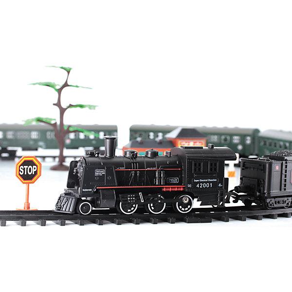 Железная дорога L, Education LineЖелезные дороги<br>Длина собранной конструкции - 104 см, ширина - 68 см.<br>Материал: пластик.<br>Набор имеет световые и звуковые эффекты (эффекта дыма нет).<br>Размер паровоза и вагонов: 13х6 см.<br>Поезд работает от 2х1,5V батареек типа АА (В комплект не входят).<br><br>Ширина мм: 350<br>Глубина мм: 45<br>Высота мм: 240<br>Вес г: 397<br>Возраст от месяцев: 36<br>Возраст до месяцев: 96<br>Пол: Мужской<br>Возраст: Детский<br>SKU: 4306878