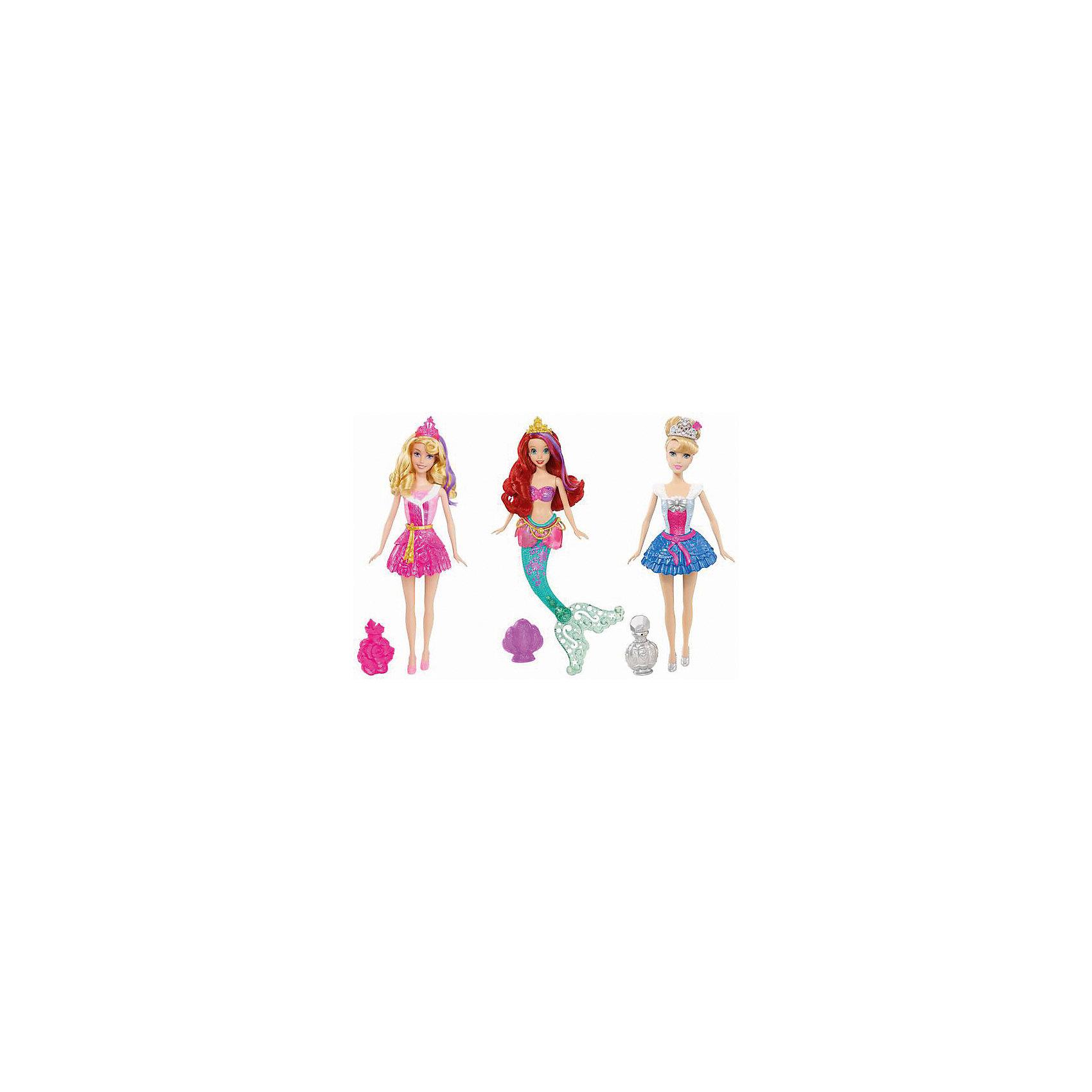 Mattel Кукла Принцессы Дисней (Золушка, Ариэль, Аврора), в ассортименте кукла золушка 7 5 см принцессы дисней