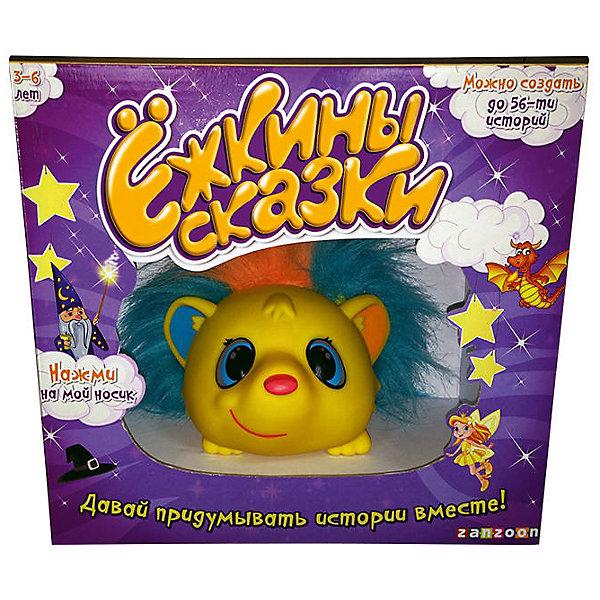 Интерактивный Ёжик Ежкины сказки,  ZanZoonИнтерактивные игрушки для малышей<br>Этот очаровательный ёжик покорит сердце и малыша, и родителей! Надо лишь нажать на носик игрушки, и она начнет рассказывать сказки. С милым Ёжкой вашему малышу никогда не будет скучно, ежик не только расскажет ребенку замечательные истории, но и научит кроху сочинять сказки, которые можно будет сохранить и послушать в любое время, когда захочется. <br><br>Дополнительная информация:<br><br>- Материал: пластик, мех.<br>- Размер: 13x23x25 см.<br>- Элемент питания: 3 ААА батарейки (в комплекте).<br>- 2 готовые сказки.<br>- 56 вариантов сказок.<br>- 20 сказок сохраняются.<br><br>Интерактивного Ёжика Ежкины сказки,  ZanZoon, можно купить в нашем магазине.<br><br>Ширина мм: 130<br>Глубина мм: 250<br>Высота мм: 230<br>Вес г: 398<br>Возраст от месяцев: 36<br>Возраст до месяцев: 84<br>Пол: Унисекс<br>Возраст: Детский<br>SKU: 4310802