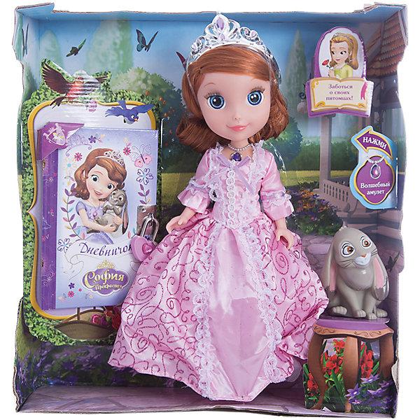 Кукла София, с кроликом и дневником, 25см, София Прекрасная, КарапузИгрушки<br>Очаровательная София и ее верный друг-кролик обязательно порадуют девочек. Куколка выглядит в точности, как персонаж из любимого мультфильма. Малышка одета в красивое платье с пышной юбкой, на голове у нее - изысканная тиара. Проигрывай полюбившиеся моменты из мультфильма или придумывай свои новые истории и записывай их в дневник. <br><br>Дополнительная информация:<br><br>- Материал: пластик, текстиль.<br>- Размер куклы: 25 см.<br>- Голова, руки, ноги куклы подвижные. <br>- Комплектация: кукла в одежде, аксессуары, кролик, дневник.<br><br>Куклу София, с кроликом и дневником, 25см, София Прекрасная, Карапуз, можно купить в нашем магазине.<br>Ширина мм: 270; Глубина мм: 300; Высота мм: 90; Вес г: 630; Возраст от месяцев: 36; Возраст до месяцев: 120; Пол: Женский; Возраст: Детский; SKU: 4310816;