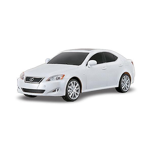 Машина LEXUS IS 350, 1:24, со светом, р/у, RASTAR, в ассортиментеРадиоуправляемые машины<br>Красивый и стильный автомобиль представительского класса, выполненный в масштабе 1:18 приведет в восторг любого мальчишку! Машина прекрасно детализирована, очень похожа на настоящий автомобиль, развивает скорость до 7 км/ч. Модель имеет четыре направления движения: вперед, назад, вправо и влево, работающие  задние огни и стоп-сигналы. <br><br>Дополнительная информация:<br><br>- Материал: пластик, металл.<br>- Размер: 19,2 х 8,3 х 6 см. <br>- Максимальная скорость 7 км/ч.<br>- Время непрерывной работы: 45 мин.<br>- Масштаб: 1:24.<br>- Комплектация: машинка; пульт управления.<br>- Звуковые и световые эффекты.<br>- Элемент питания: 5 ААА батареек, 1 крона (в комплект не входят).<br>- Дистанция управления: до 45 м.<br>- Цвет в ассортименте.<br>ВНИМАНИЕ! Данный артикул представлен в разных цветовых вариантах. К сожалению, заранее выбрать определенный цвет невозможно. При заказе нескольких машин, возможно получение одинаковых.<br><br>Машину LEXUS IS 350, 1:24, со светом, р/у, RASTAR, в ассортименте, можно купить в нашем магазине.<br><br>Ширина мм: 270<br>Глубина мм: 110<br>Высота мм: 130<br>Вес г: 450<br>Возраст от месяцев: 36<br>Возраст до месяцев: 144<br>Пол: Мужской<br>Возраст: Детский<br>SKU: 4310829