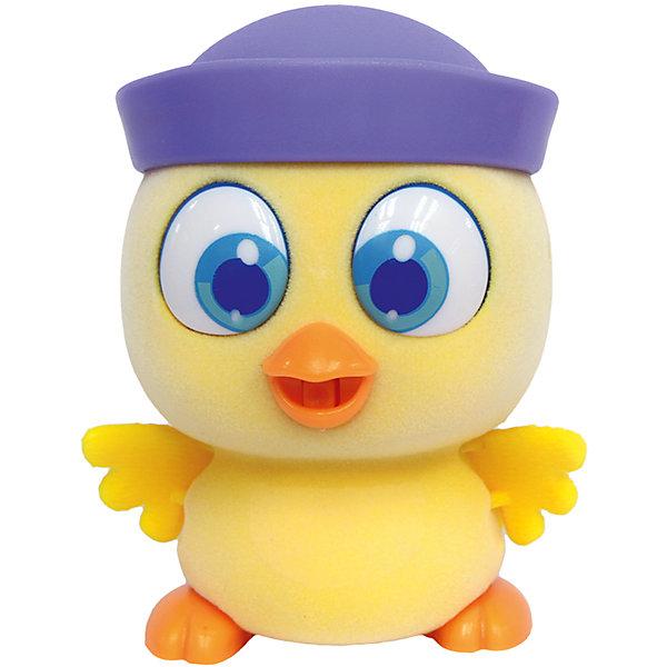 Пи-ко-ко Цыпленок в кепке, AvecoИнтерактивные игрушки для малышей<br>Очаровательный цыпленок приведет в восторг любого ребенка. После включения птенец начинает пищать. Если рядом с ним хлопнуть в ладони, громко сказать или издать другой громкий звук, он начнёт быстро убегать, хлопая крыльями и громко пища. Если взять его в руки и покормить из соски, входящей в набор, птенец успокоится и начнет издавать звуки. После этого он начнет медленно ходить и щебетать, пока опять не услышит громкий звук. <br><br>Дополнительная информация:<br><br>- Материал: пластик, флок.<br>- Размер птенца: 9 х 6 см<br>- Размер упаковки: 20х70х21,5 см.<br>- Элемент питания: 1 ААА батарейка (не входит в комплект).<br><br>Пи-ко-ко Цыпленка в кепке, Aveco, можно купить в нашем магазине.<br><br>Ширина мм: 200<br>Глубина мм: 70<br>Высота мм: 215<br>Вес г: 189<br>Возраст от месяцев: 36<br>Возраст до месяцев: 72<br>Пол: Унисекс<br>Возраст: Детский<br>SKU: 4314694