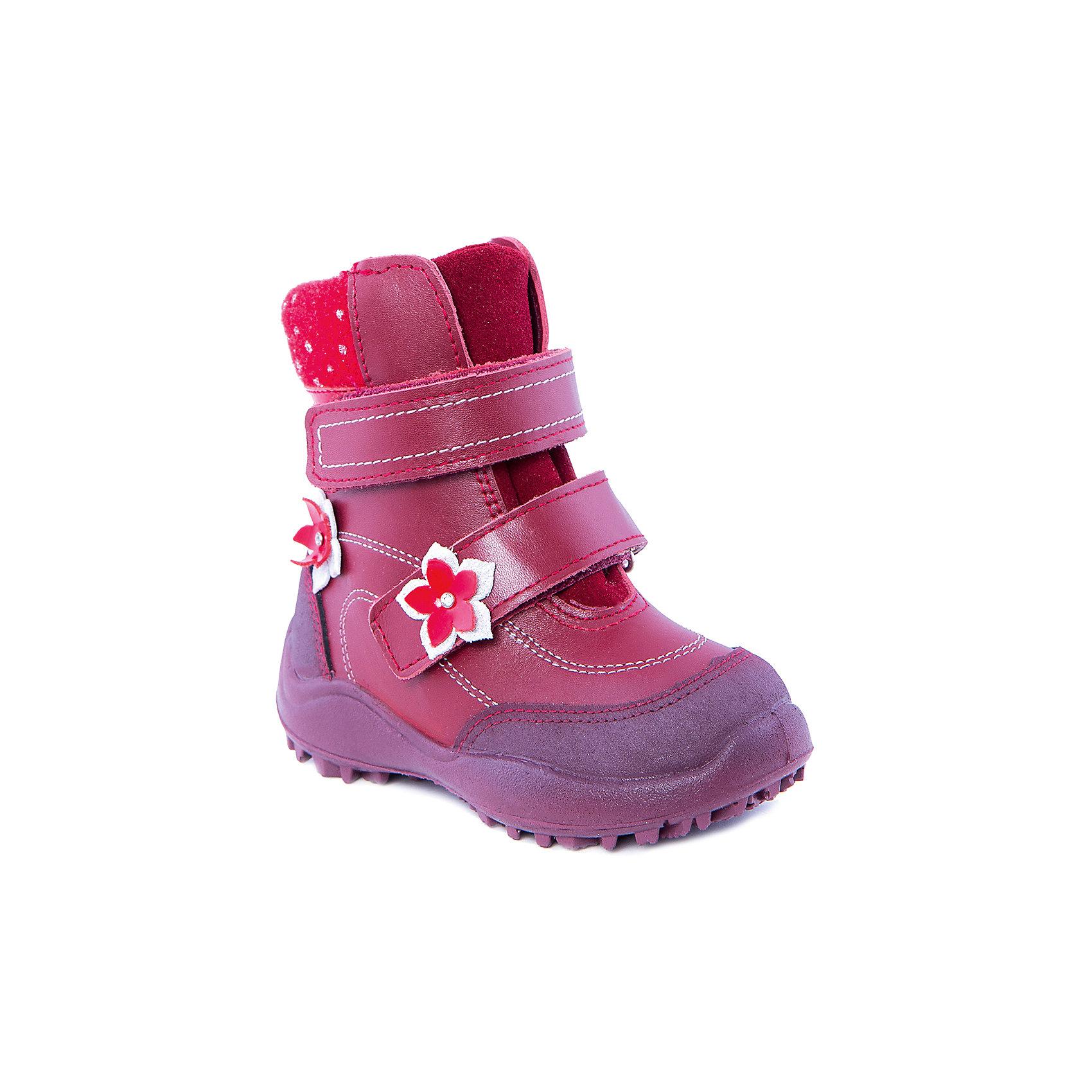 Ботинки для девочки КотофейБотинки для девочки от известного российского бренда Котофей<br><br>Модные теплые ботинки не только хорошо сидят на ноге - они легко надеваются благодаря удобной липучке. Эта модель создана с учетом особенностей развития детской стопы, поэтому все детали проработаны особенно тщательно.<br><br>Особенности модели: <br><br>- цвет - бордовый;<br>- стильный дизайн;<br>- внутри натуральный мех;<br>- верх – натуральная кожа;<br>- комфортная колодка;<br>- подкладка утепленная;<br>- вид крепления – литьевой;<br>- защита пальцев;<br>- амортизирующая устойчивая подошва;<br>- застежка - липучка.<br><br>Дополнительная информация:<br><br>Температурный режим: <br><br>от -25° С до 0° С<br><br>Состав:<br>верх – натуральная кожа;<br>подкладка - овчина;<br>подошва - ПУ;<br><br>Ботинки для девочки Котофей можно купить в нашем магазине.<br><br>Ширина мм: 262<br>Глубина мм: 176<br>Высота мм: 97<br>Вес г: 427<br>Цвет: бордовый<br>Возраст от месяцев: 24<br>Возраст до месяцев: 36<br>Пол: Женский<br>Возраст: Детский<br>Размер: 26,27,28,30,29,23,31,24,25<br>SKU: 4315313