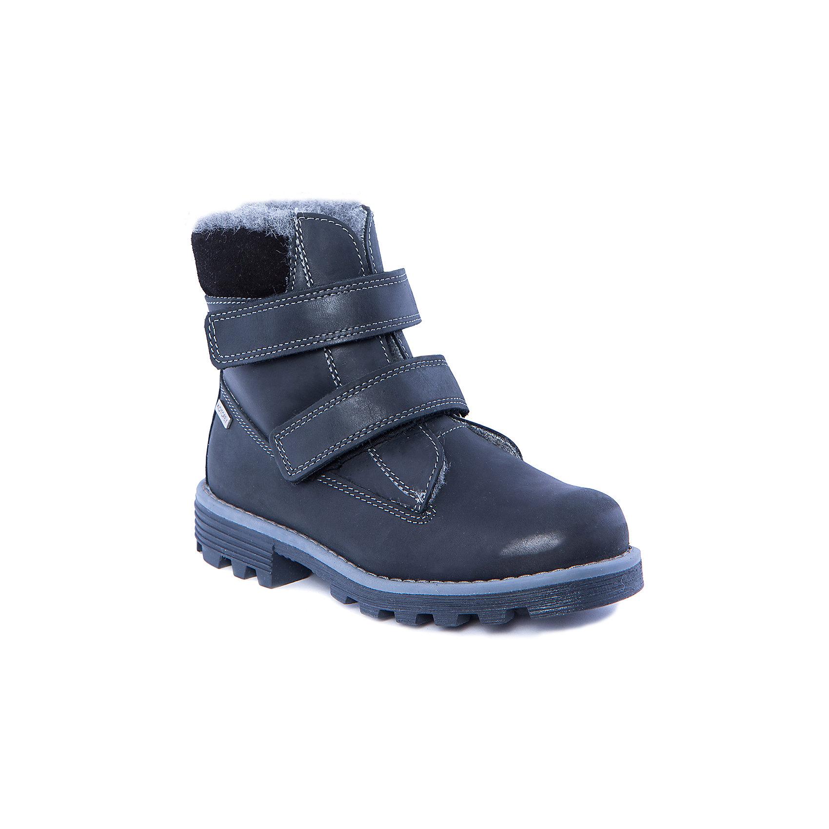 Ботинки для мальчика КотофейБотинки<br>Ботинки для мальчика от известного российского бренда Котофей<br><br>Теплые модные ботинки помогут защитить детские ножки от сырости и холода. Они легко надеваются, комфортно садятся по ноге.<br><br>Особенности модели: <br><br>- цвет - черный;<br>- голенище полностью закрывает голеностоп;<br>- верх – натуральная кожа;<br>- комфортная колодка;<br>- подкладка утепленная;<br>- вид крепления – клеевой;<br>- контрастная прошивка;<br>- амортизирующая устойчивая подошва;<br>- застежка - липучка.<br><br>Дополнительная информация:<br><br>Температурный режим: <br><br>от 0° С до -25° С<br><br>Состав:<br>верх – натуральная кожа;<br>подкладка - шерстяной мех;<br>подошва - ТЭП.<br><br>Ботинки для мальчика Котофей можно купить в нашем магазине.<br><br>Ширина мм: 262<br>Глубина мм: 176<br>Высота мм: 97<br>Вес г: 427<br>Цвет: черный<br>Возраст от месяцев: 96<br>Возраст до месяцев: 108<br>Пол: Мужской<br>Возраст: Детский<br>Размер: 32,37,36,35,34,33<br>SKU: 4315334