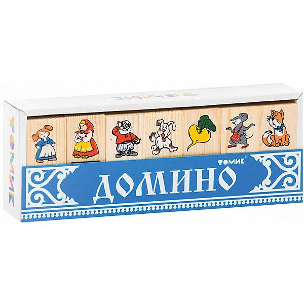Домино Репка,ТомикДомино<br>Домино Репка,Томик - это увлекательная логическая игра для детей.<br>Домино Репка,Томик – это детский аналог традиционной игры Домино. Игра включает комплект деревянных плашек домино с изображением персонажей русской народной сказки Репка: репки, дедки, бабки, внучки, жучки, кошки и мышки. Домино учит ребёнка играть в коллективные игры, стараться анализировать ситуацию, использовать логику, соблюдать правила и быть внимательным, а также по возможности правильно реагировать на победы и поражения. Деревянные плашки не содержат токсичных пропиток и сертифицированы для детских игр, а нанесённые способом шелкографии рисунки — надёжны и долговечны. Игра в детское домино — ещё один замечательный способ провести совместный досуг детей и их родителей.<br><br>Дополнительная информация:<br><br>- Количество плашек: 28 шт.<br>- Размер плашки: 7 х 3 см.<br>- Материал: древесина, красители (разрешенные для применения в детских деревянных игрушках)<br>- Упаковка: картонная коробка<br>- Размер упаковки: 22,5 х 8 х 4 см.<br>- Вес: 340 гр.<br><br>Домино Репка,Томик можно купить в нашем интернет-магазине.<br>Ширина мм: 225; Глубина мм: 80; Высота мм: 40; Вес г: 340; Возраст от месяцев: 36; Возраст до месяцев: 84; Пол: Унисекс; Возраст: Детский; SKU: 4317162;