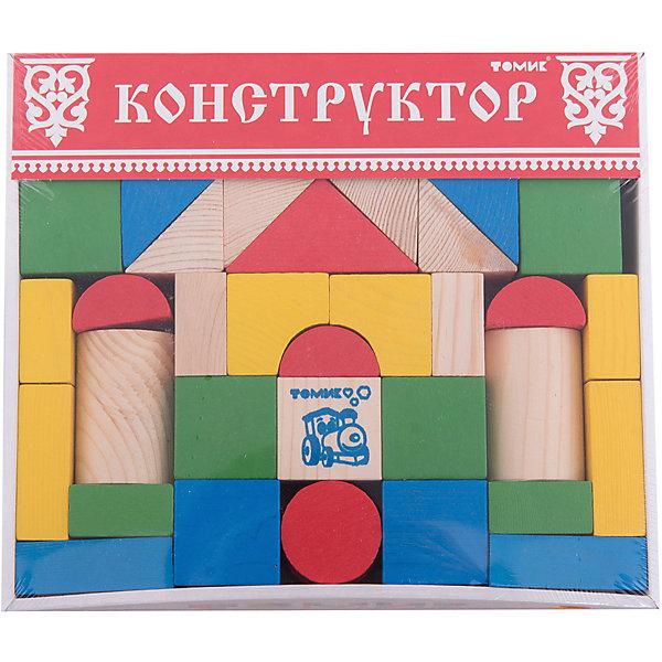 Конструктор Цветной 43 детали,ТомикДеревянные конструкторы<br>Конструктор Цветной 43 детали, Томик – это яркий конструктор для малышей из экологически чистого материала.<br>Конструктор Цветной - это игра развивающая кругозор и воображение ребенка, знакомящая его с различными формами и цветами. Ваш ребенок сможет собирать разнообразные домики, крепости или любые другие конструкции. Разноцветные детали различной формы помогают ребенку выучить называния цветов и геометрических фигур, а также понятия «больше-меньше», «выше-ниже», «шире-уже». Детали конструктора окрашены в яркие цвета — желтый, красный, зеленый, синий, белый, имеются неокрашенные детали. Благодаря крупным деталям конструктор подходит для малышей. Детали конструктора изготовлены из древесины еловых пород. Сочные яркие красочные цвета не потрескаются и не потускнеют.<br><br>Дополнительная информация:<br><br>- Конструктор включает в себя 12 видов геометрических фигур: 4 вида пластин, 2 вида треугольников, полуарки, полукруги, круги, параллелепипеды, кубы, цилиндры<br>- Количество деталей: 43<br>- Материал: дерево<br>- Упаковка: картонная коробка<br>- Размер упаковки: 25 x 22 x 4 см.<br>- Вес: 1 кг.<br><br>Конструктор Цветной 43 детали, Томик можно купить в нашем интернет-магазине.<br>Ширина мм: 250; Глубина мм: 220; Высота мм: 40; Вес г: 1000; Возраст от месяцев: 36; Возраст до месяцев: 84; Пол: Унисекс; Возраст: Детский; SKU: 4317163;