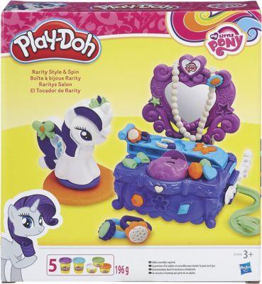 Hasbro Игровой набор Туалетный столик Рарити , Play-Doh