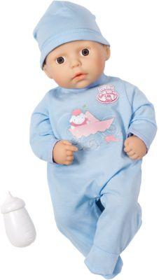 Zapf Creation Кукла-мальчик с бутылочкой, 36 см, Baby Annabell