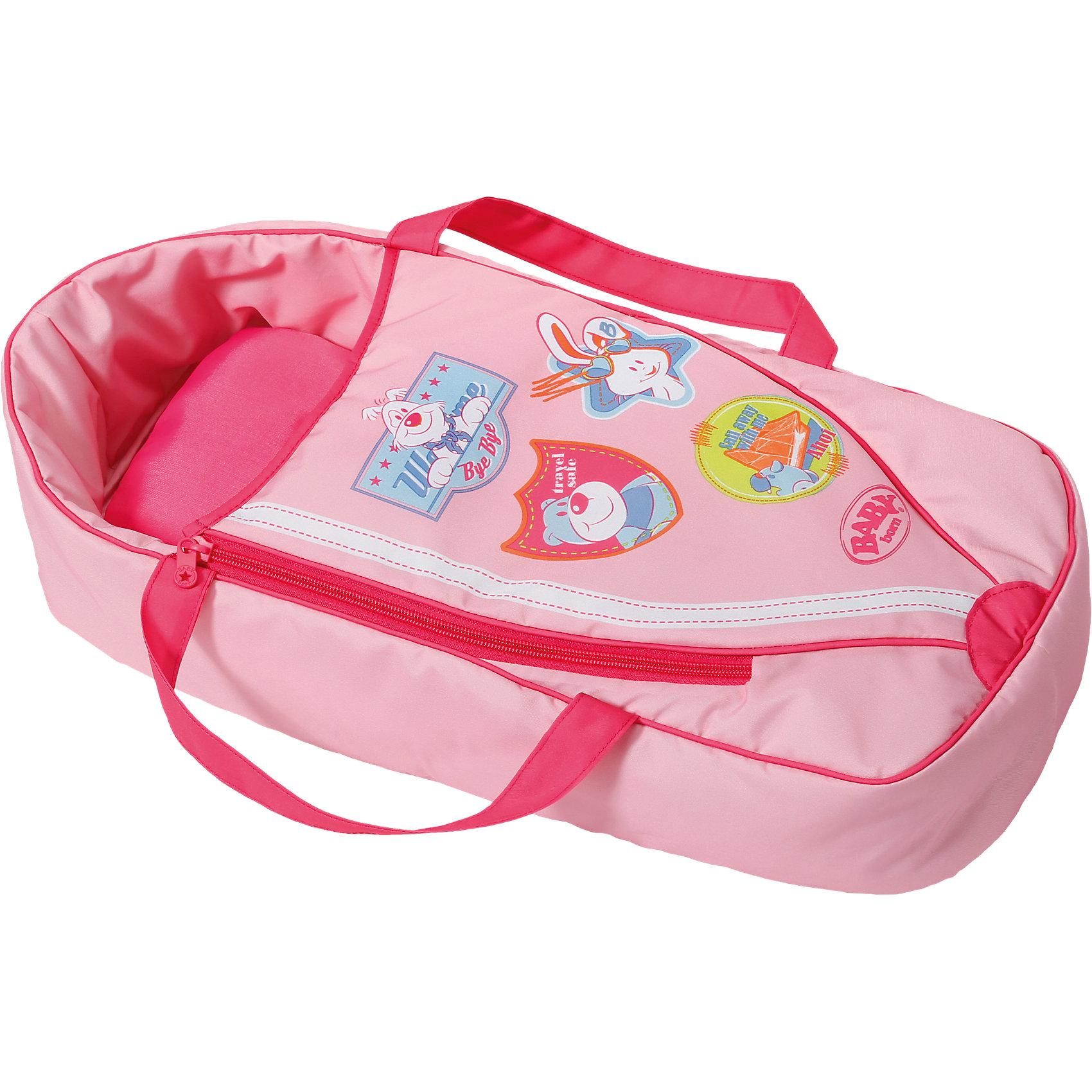 Спальный мешок, BABY bornКукольная одежда и аксессуары<br>Стильный розовый спальный мешок подойдёт для куколки BABY born или Baby Annabell. В таком спальном мешке всегда будет уютно и тепло. У мешка есть удобные широкие ручки, благодаря которым его можно использовать как переноску и брать любимую куклу с собой на прогулку.<br><br>Ширина мм: 493<br>Глубина мм: 233<br>Высота мм: 107<br>Вес г: 363<br>Возраст от месяцев: 36<br>Возраст до месяцев: 60<br>Пол: Женский<br>Возраст: Детский<br>SKU: 4319356