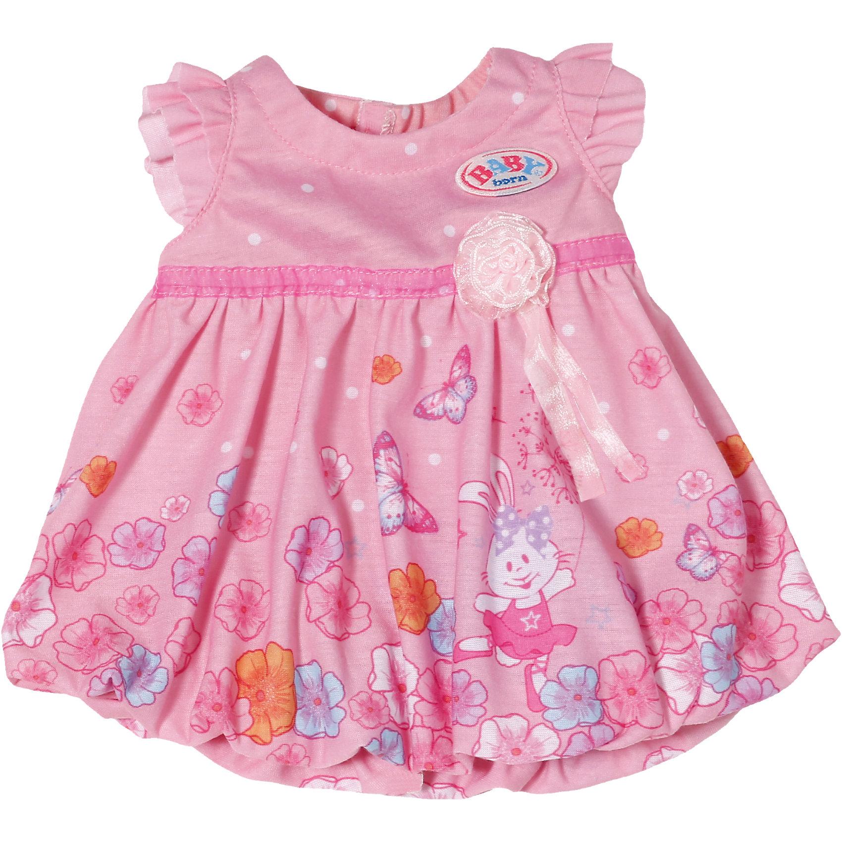 Zapf Creation Платье для куклы, BABY born, в ассортименте baby born подгузники для куклы