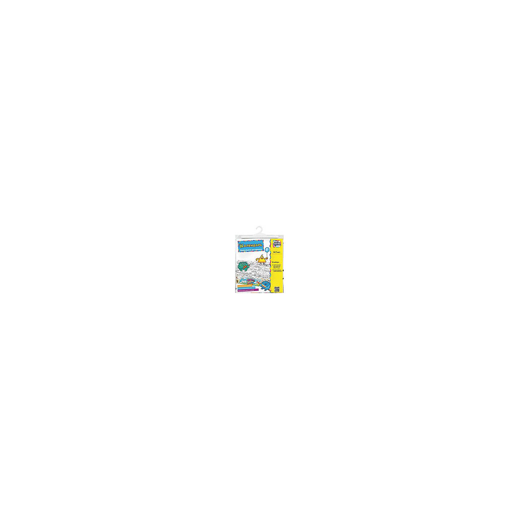 Напольная раскраска КалендарьНапольная раскраска Календарь – это очень большая многоразовая раскраска.<br>Большая напольная раскраска Календарь обязательно понравится вашему юному художнику! Лист раскраски поделен на квадратики, на каждом написаны время года и месяц, и нарисована черно-белая картинка для каждого месяца. Благодаря этой раскраске ваш малыш познакомится со временами года, выучит названия месяцев, их последовательность, узнает о характерных особенностях каждого месяца и, конечно же, получит море удовольствия. Расстелив ее на полу, ребенок будет рисовать на ней, и играть, как на коврике. Раскраска изготовлена из плотного полиэтилена, поэтому картинки можно раскрашивать, смывать водой и раскрашивать заново! Раскраска развивает моторику рук, воображение, образное мышление и творческие способности. Раскрашивая черно-белые картинки, ребенок научится передавать цветовую гамму с помощью карандашей или красок и обретет навыки рисования.<br><br>Дополнительная информация:<br><br>- В наборе: напольная раскраска (83х71 см), 6 восковых карандашей<br>- Длина карандаша: 9 см.<br>- Материал: полиэтилен<br>- Издательство: KriBly Boo<br>- Серия: Раскраска напольная<br>- Размер упаковки: 247x213x5 мм.<br>- Вес: 96 гр.<br><br>Напольную раскраску Календарь можно купить в нашем интернет-магазине.<br><br>Ширина мм: 213<br>Глубина мм: 247<br>Высота мм: 5<br>Вес г: 96<br>Возраст от месяцев: 36<br>Возраст до месяцев: 72<br>Пол: Унисекс<br>Возраст: Детский<br>SKU: 4319556