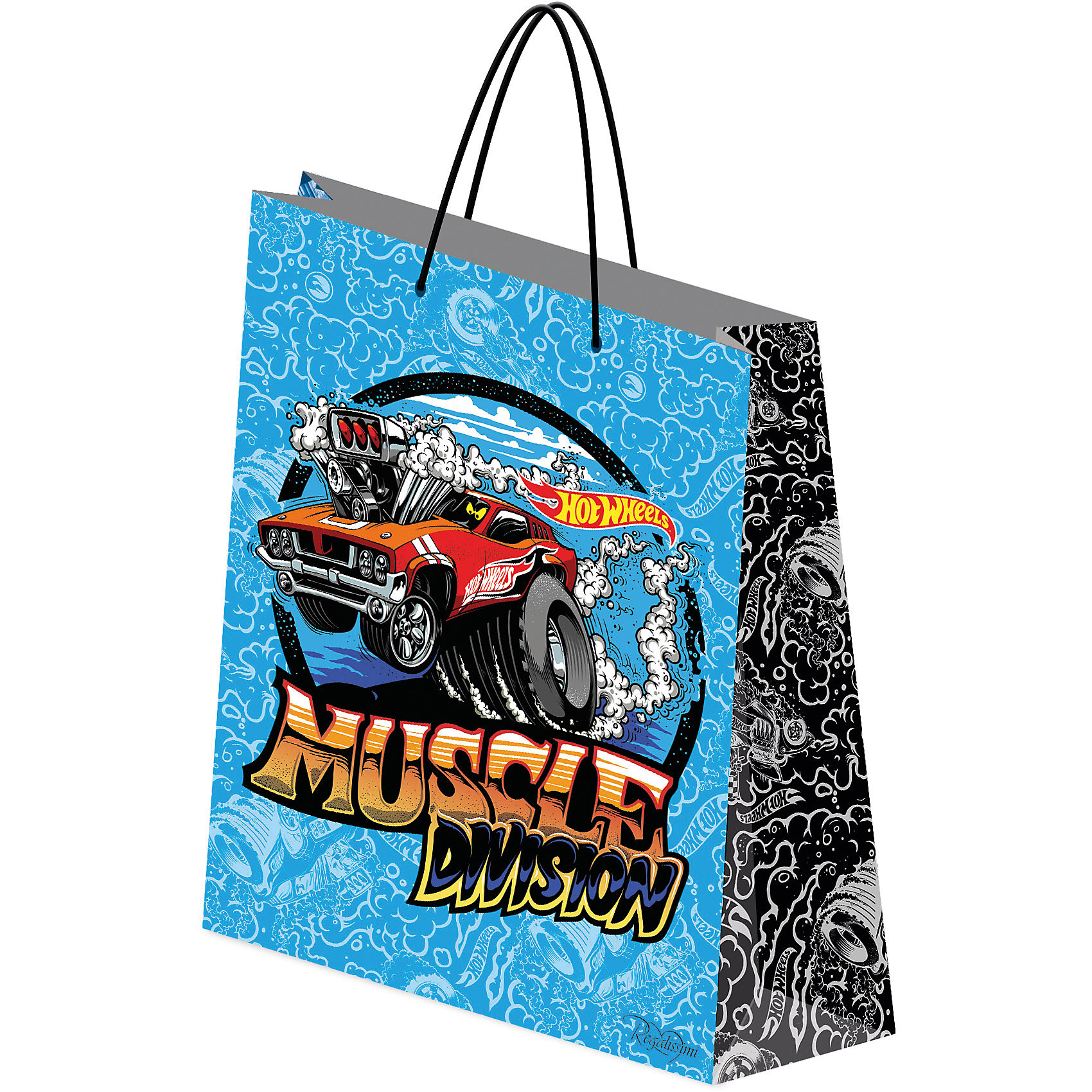 Подарочный пакет Hot Wheels 28*34*9 смДетские подарочные пакеты<br>Красиво упакованный подарок приятно получать вдвойне! Яркий пакет с любимыми героями станет прекрасным дополнением к любому подарку. <br><br>Дополнительная информация:<br><br>- Материал: бумага.<br>- Размер: 28 х 34 х 9 см.<br>- Эффект: матовая ламинация. <br><br>Подарочный пакет Hot Wheels (Хот Вилс), 28 х 34 х 9 см., можно купить в нашем магазине.<br><br>Ширина мм: 2<br>Глубина мм: 280<br>Высота мм: 340<br>Вес г: 61<br>Возраст от месяцев: 48<br>Возраст до месяцев: 96<br>Пол: Мужской<br>Возраст: Детский<br>SKU: 4319935